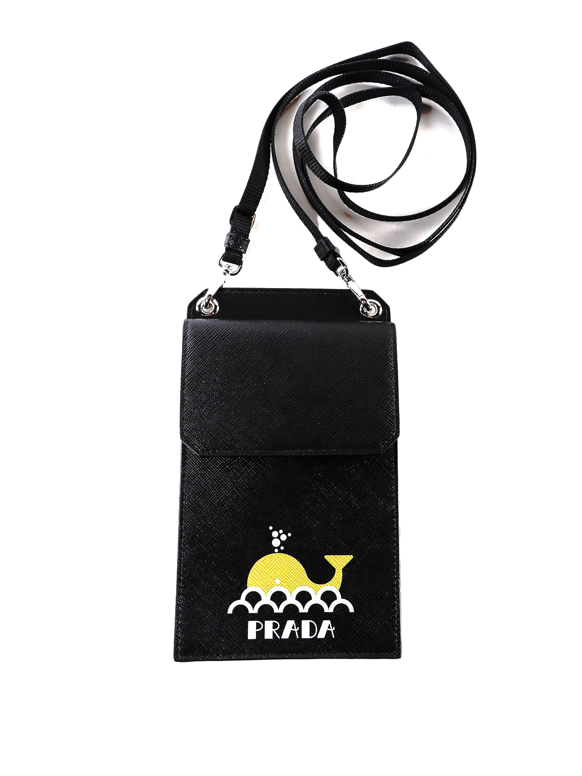 85bd9863ea07 Prada - Saffiano leather smartphone case - Cases & Covers ...