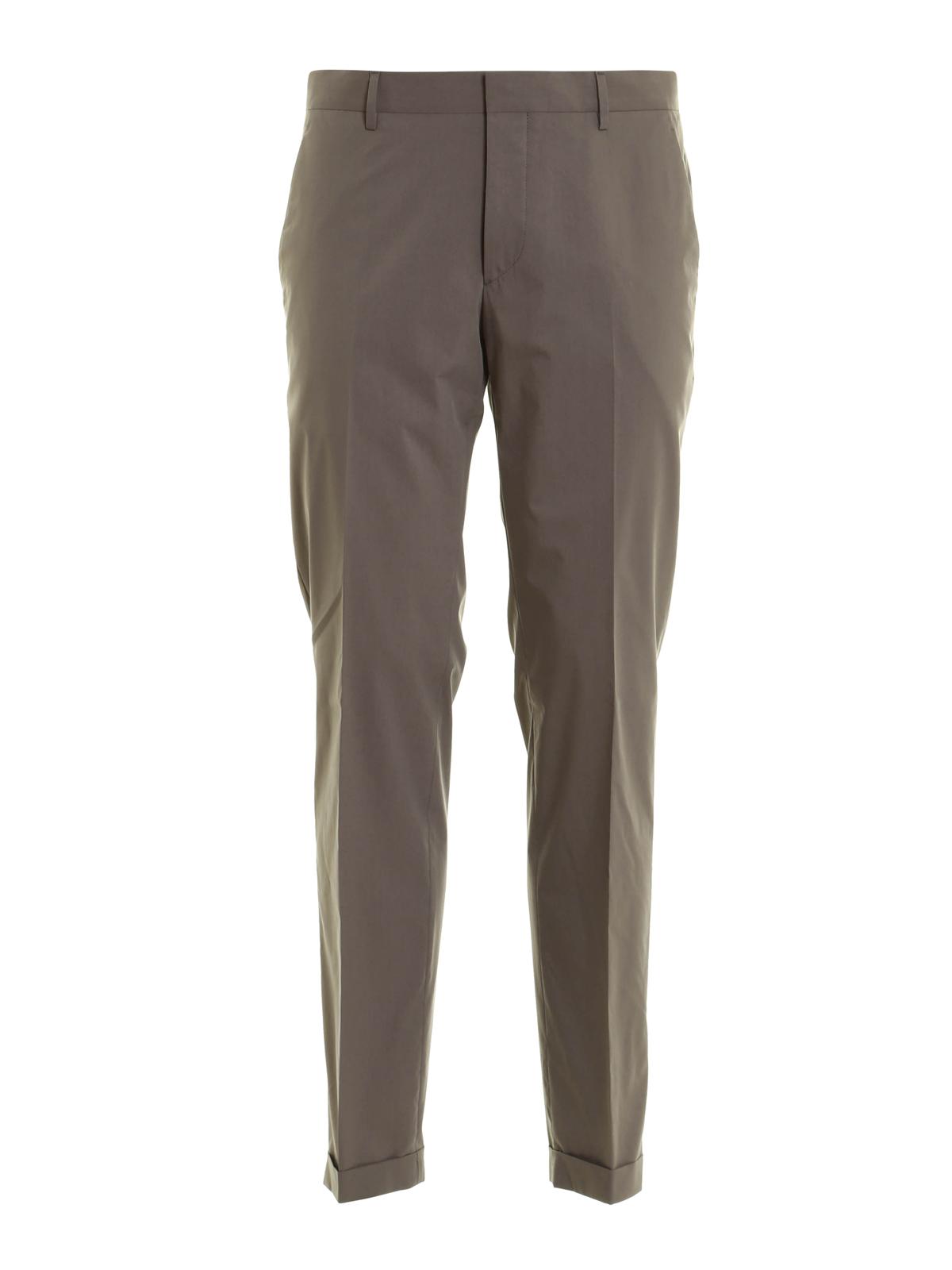 Prada Pantalon De Traje Gris Para Hombre Pantalones Casual Upa762xa5276