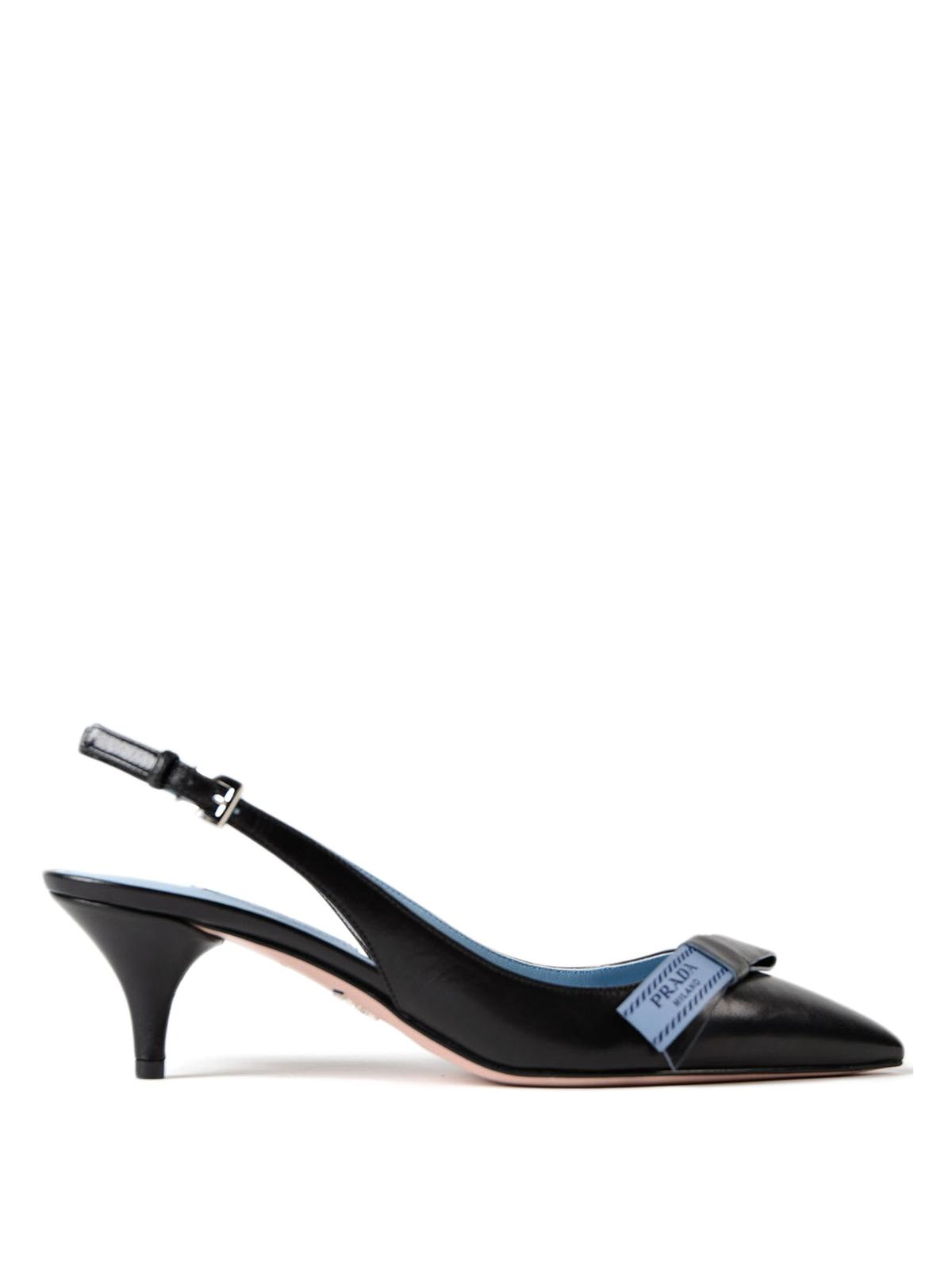 90699bd0ca5d À À À Noir Escarpins Prada Chaussures Talon 1i375i011f0002f055 FYqBpUvwp