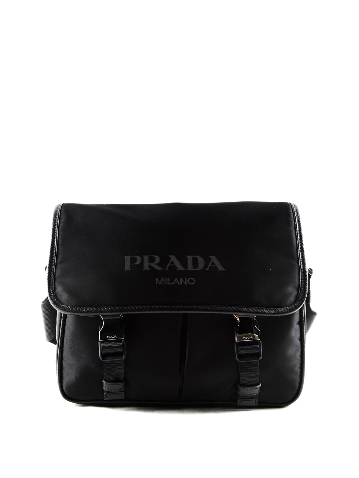 4f60d5cae8de ... clearance prada cross body bags nylon and saffiano bag 7a0f3 8dcd6