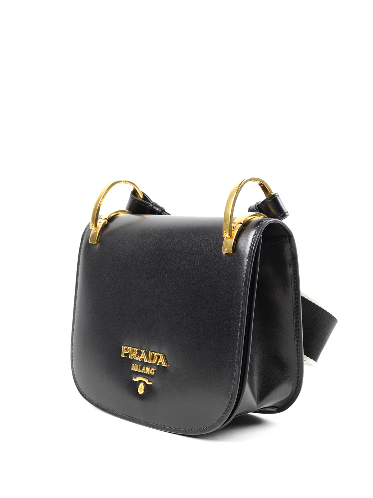 prada wallets for women - Pionni��re leather cross body bag by Prada - cross body bags | iKRIX