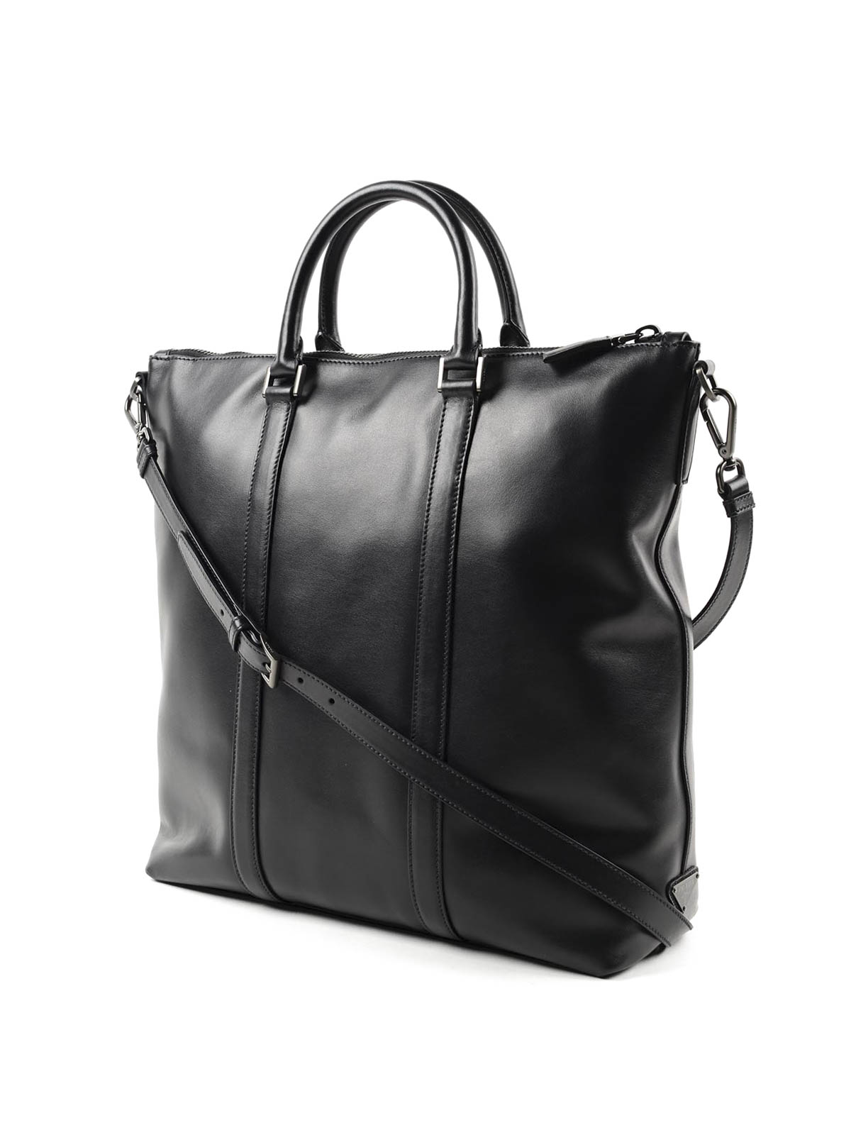 Soft leather travel bag by Prada - Luggage \u0026amp; Travel bags | iKRIX
