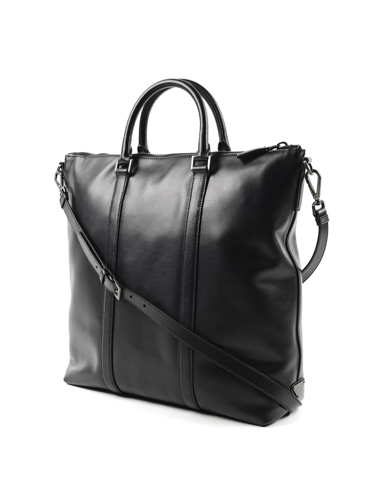 Soft leather travel bag by Prada - Luggage \u0026amp; Travel bags | iKRIX