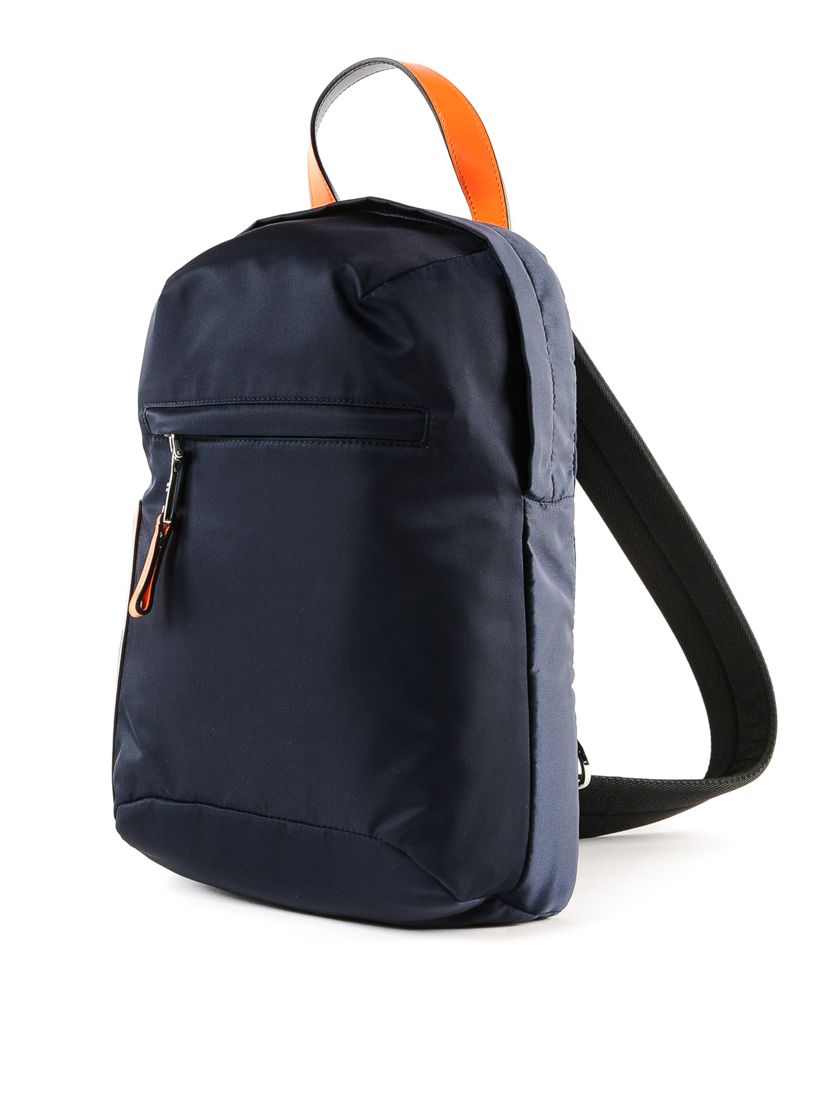 d344a26386201e Prada - Dark blue nylon one shoulder backpack - backpacks - 2VZ023 ...