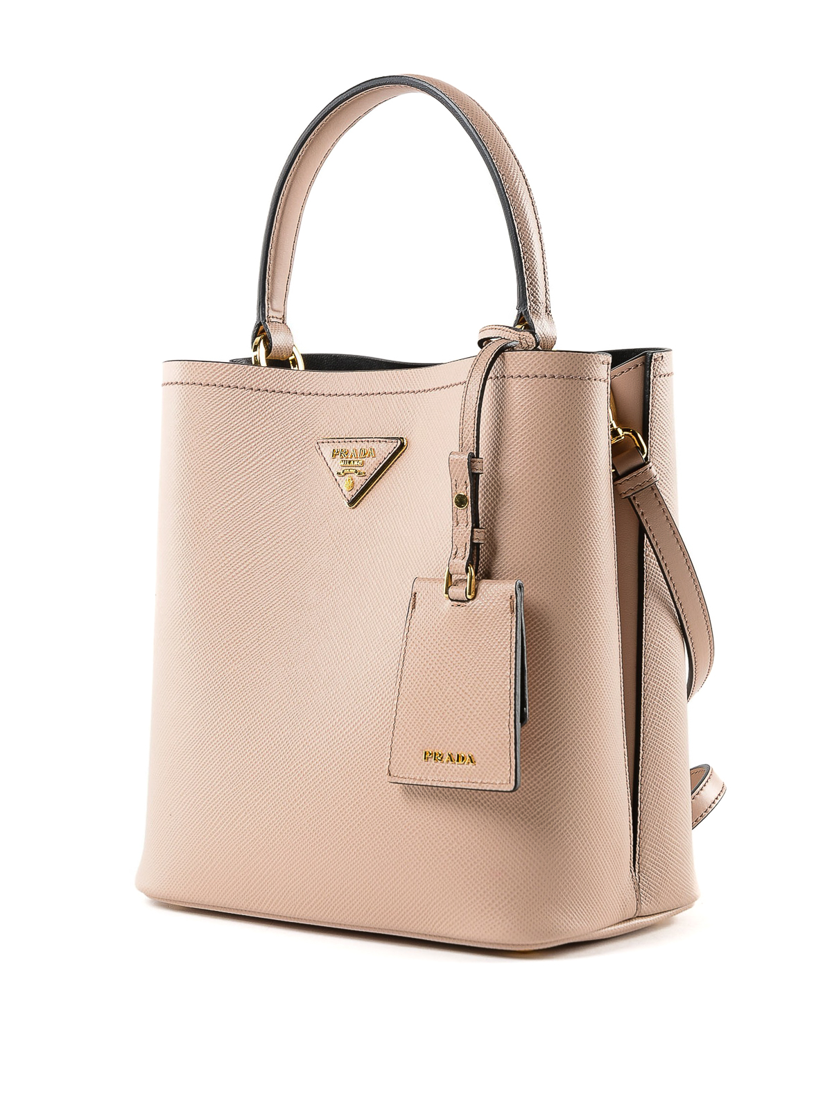 PRADA  Bucket bags online - Saffiano leather double bucket bag c1c4bf5b24edf