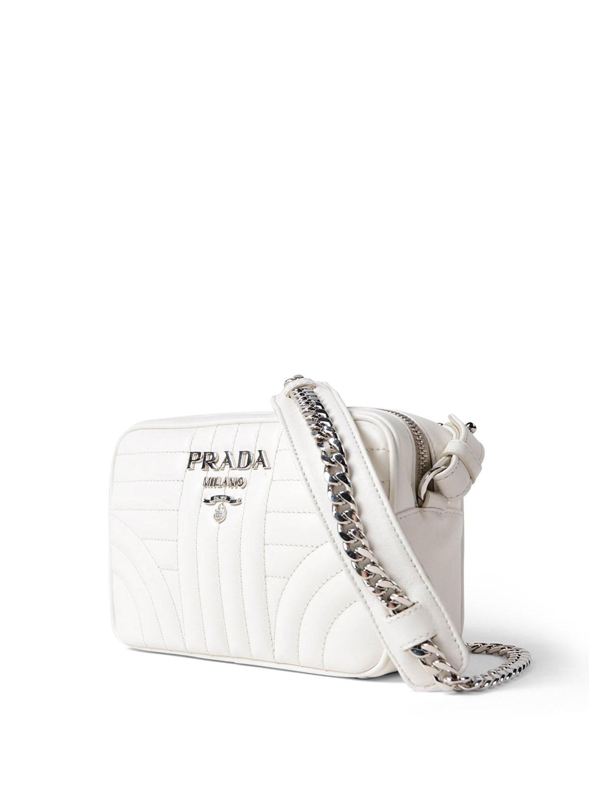 e6fe142a70c1 PRADA  cross body bags online - Diagramme soft white crossbody