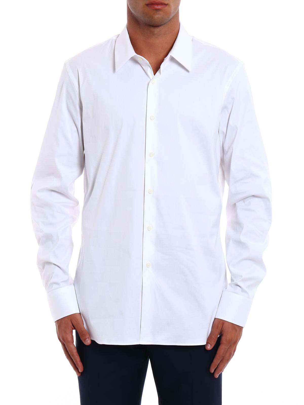 029d2da5 Prada - Stretch poplin shirt - shirts - UCM608 F62 F0009 | iKRIX.com