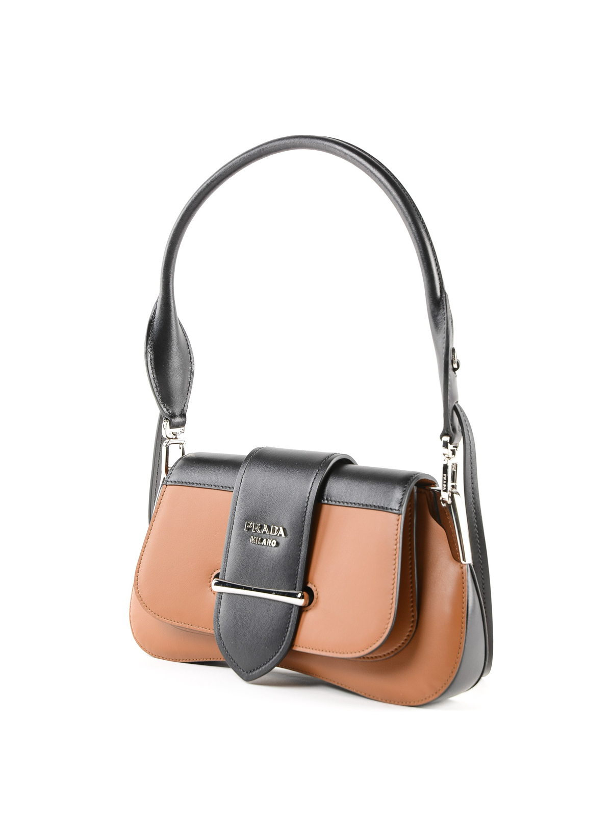 9fcc2f24208c PRADA: shoulder bags online - Sidonie two-tone leather shoulder bag