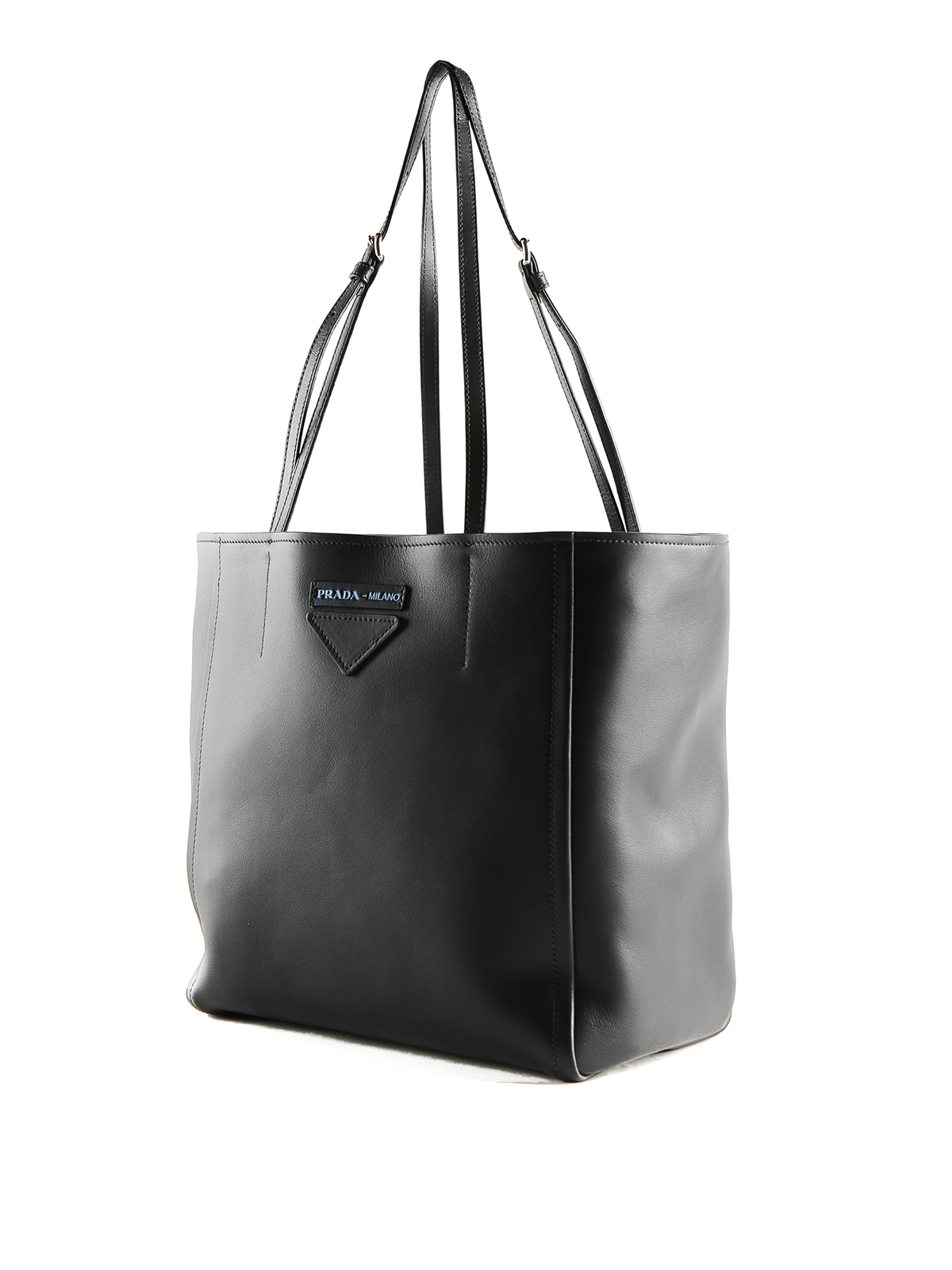 9ffd390974516c PRADA: totes bags online - Concept small black leather tote bag