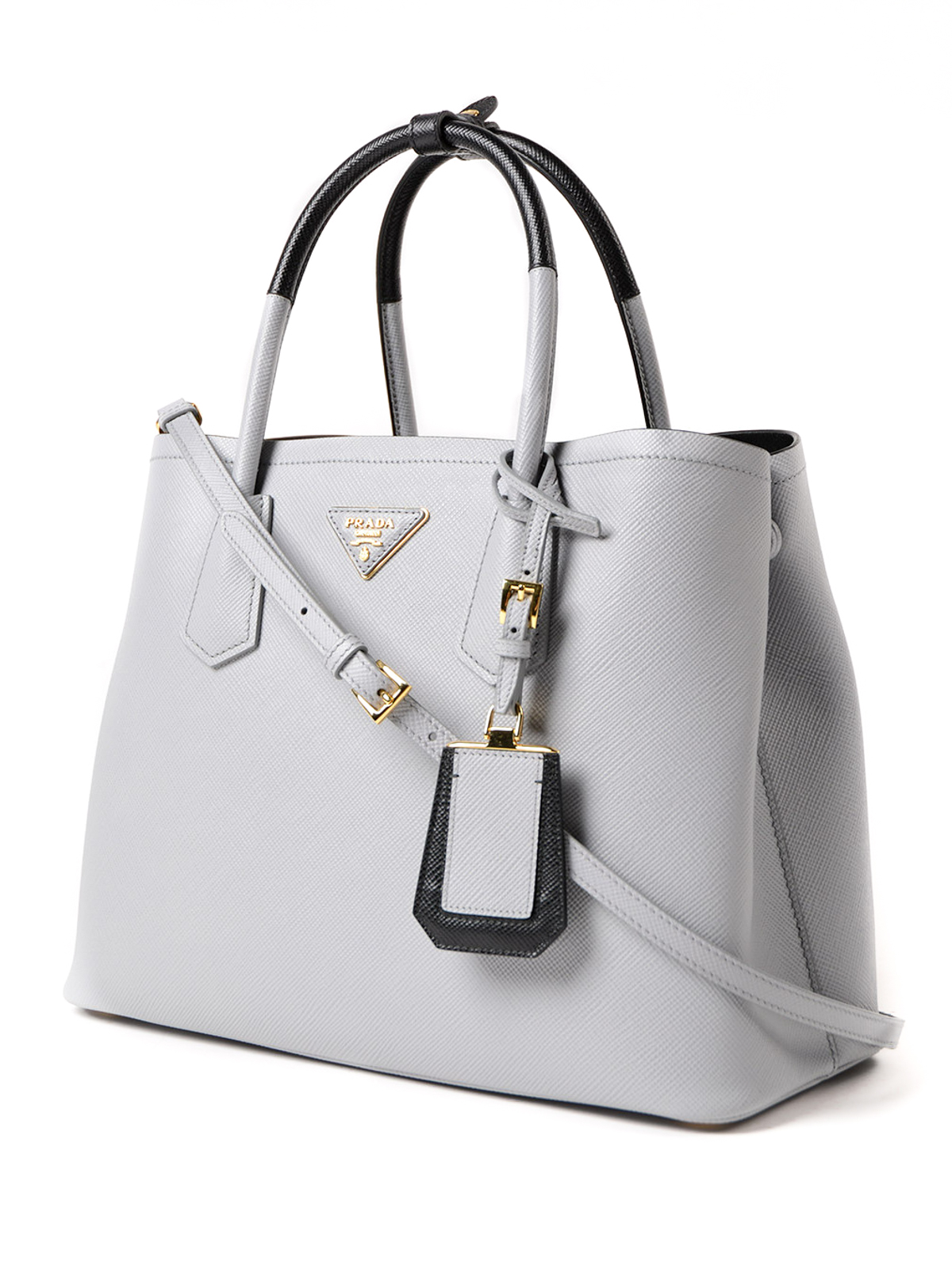 7dafed21626a Prada - Double saffiano leather tote - totes bags - 1BG7752A4AF0772VOOM