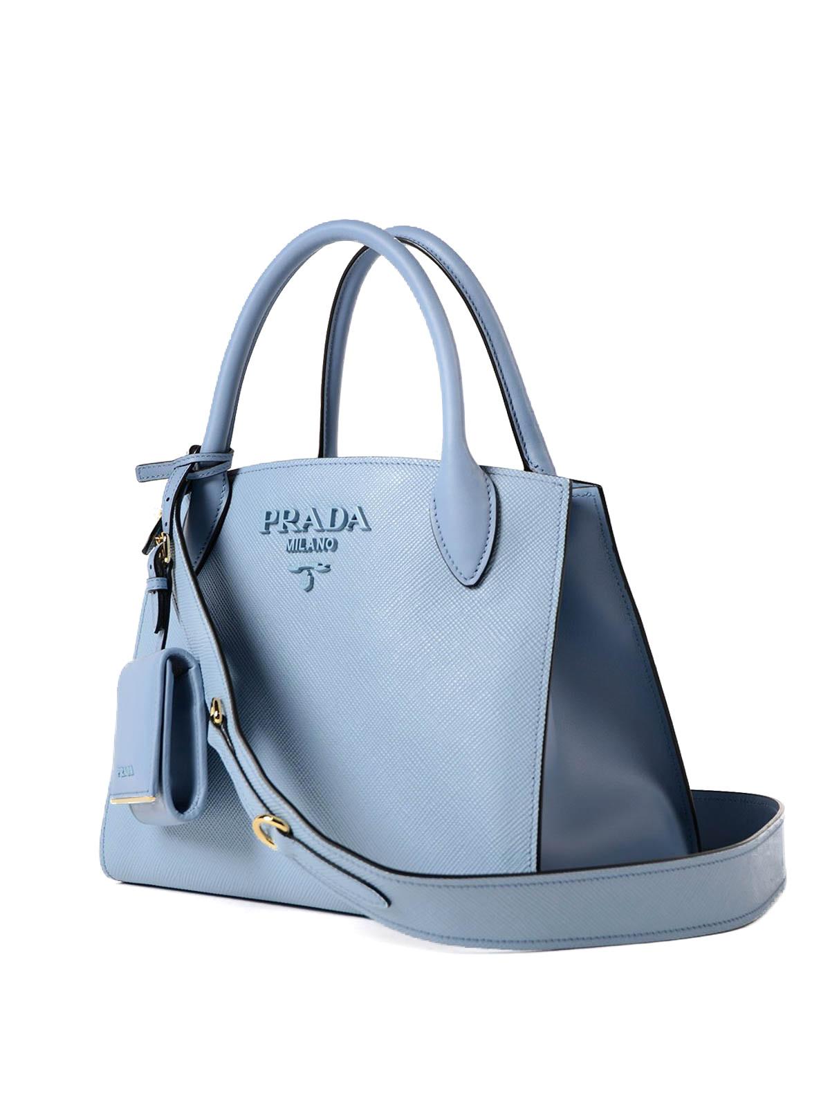 Prada Monochrome Saffiano Leather Bag Totes Bags 1ba1562erxf0637
