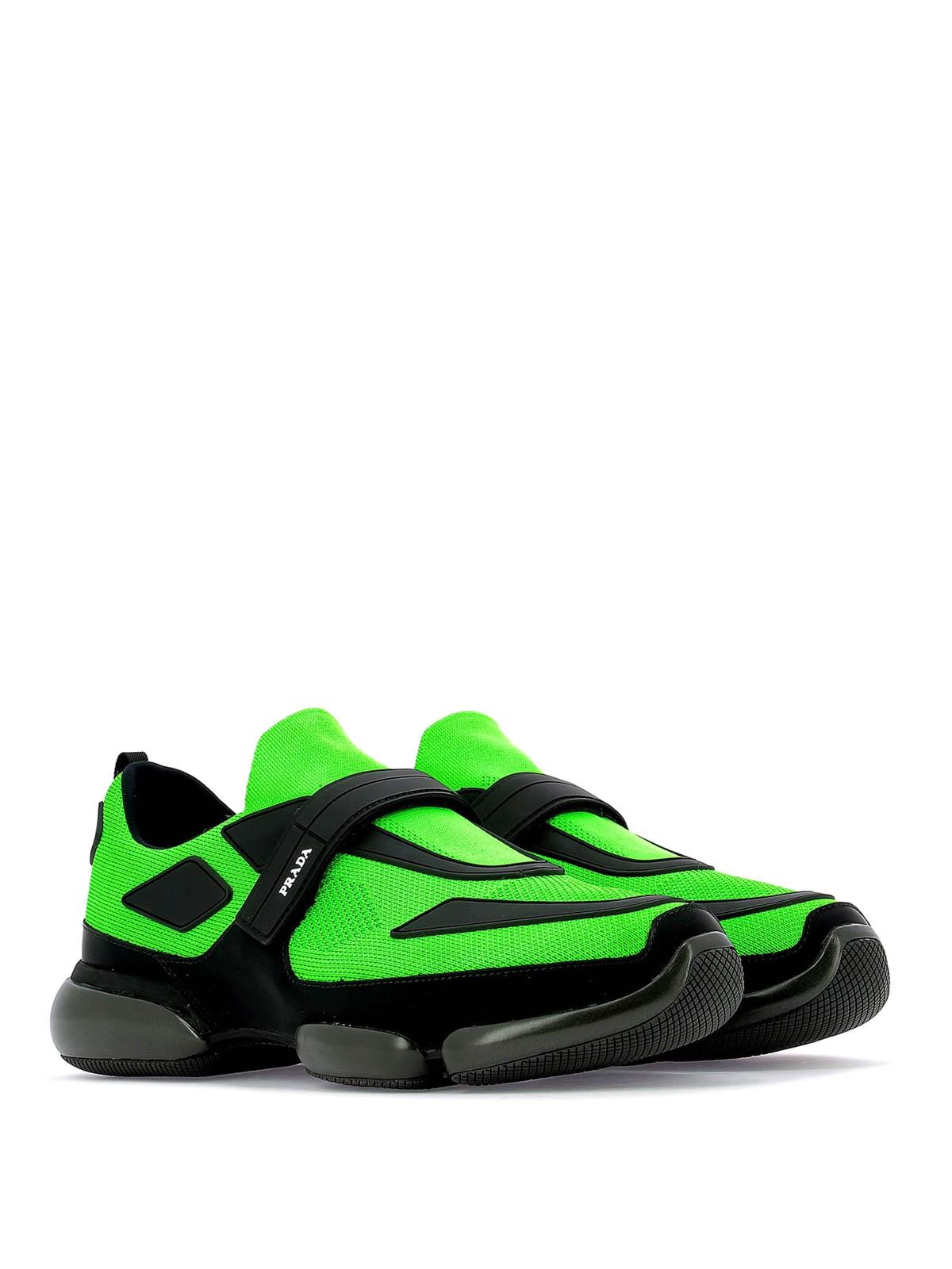 Prada - Cloudbust green and black