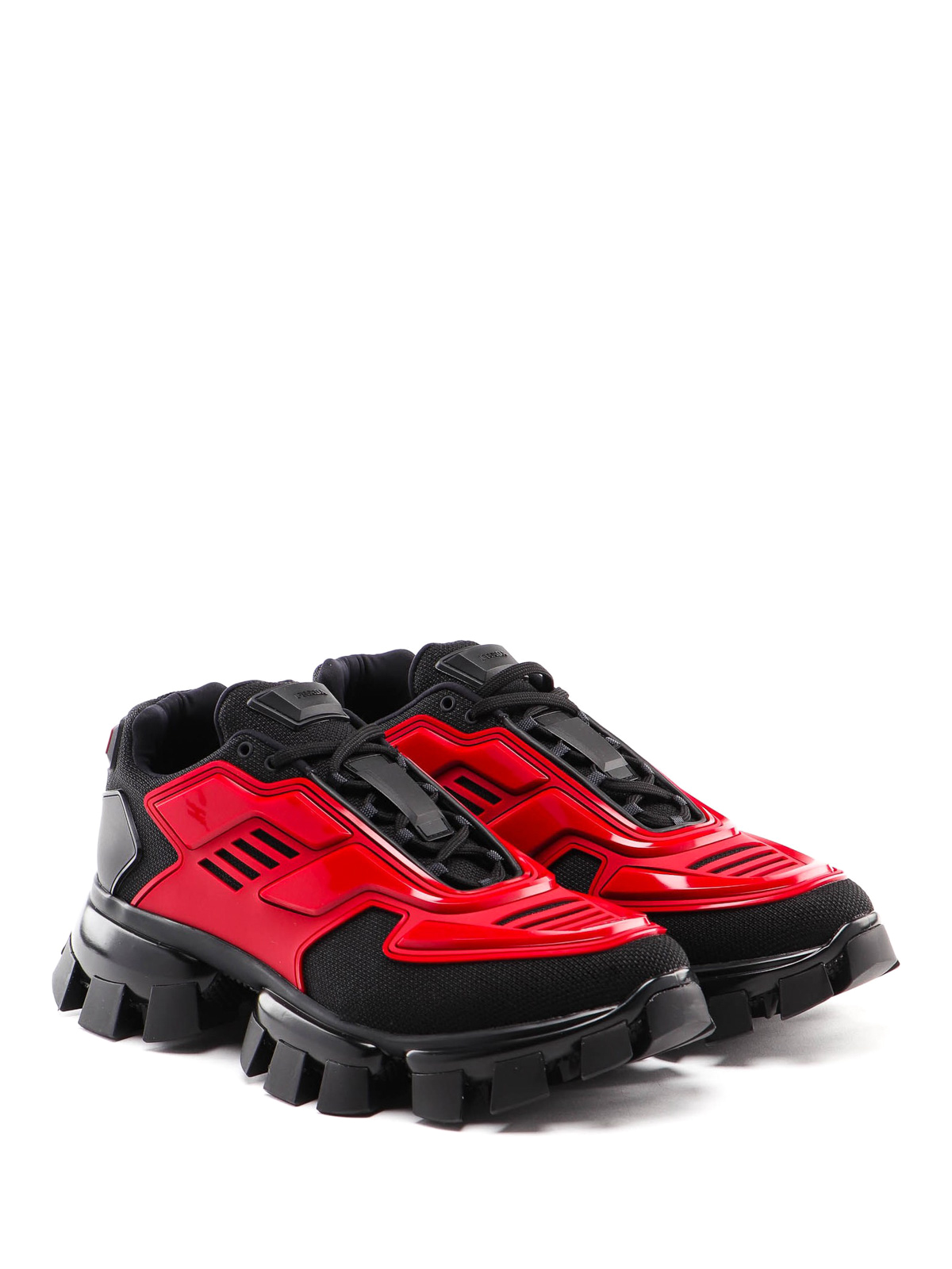 Prada - Cloudbust Thunder red sneakers