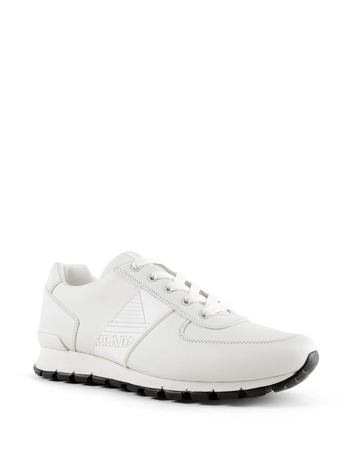 Prada - White Match Race sneakers