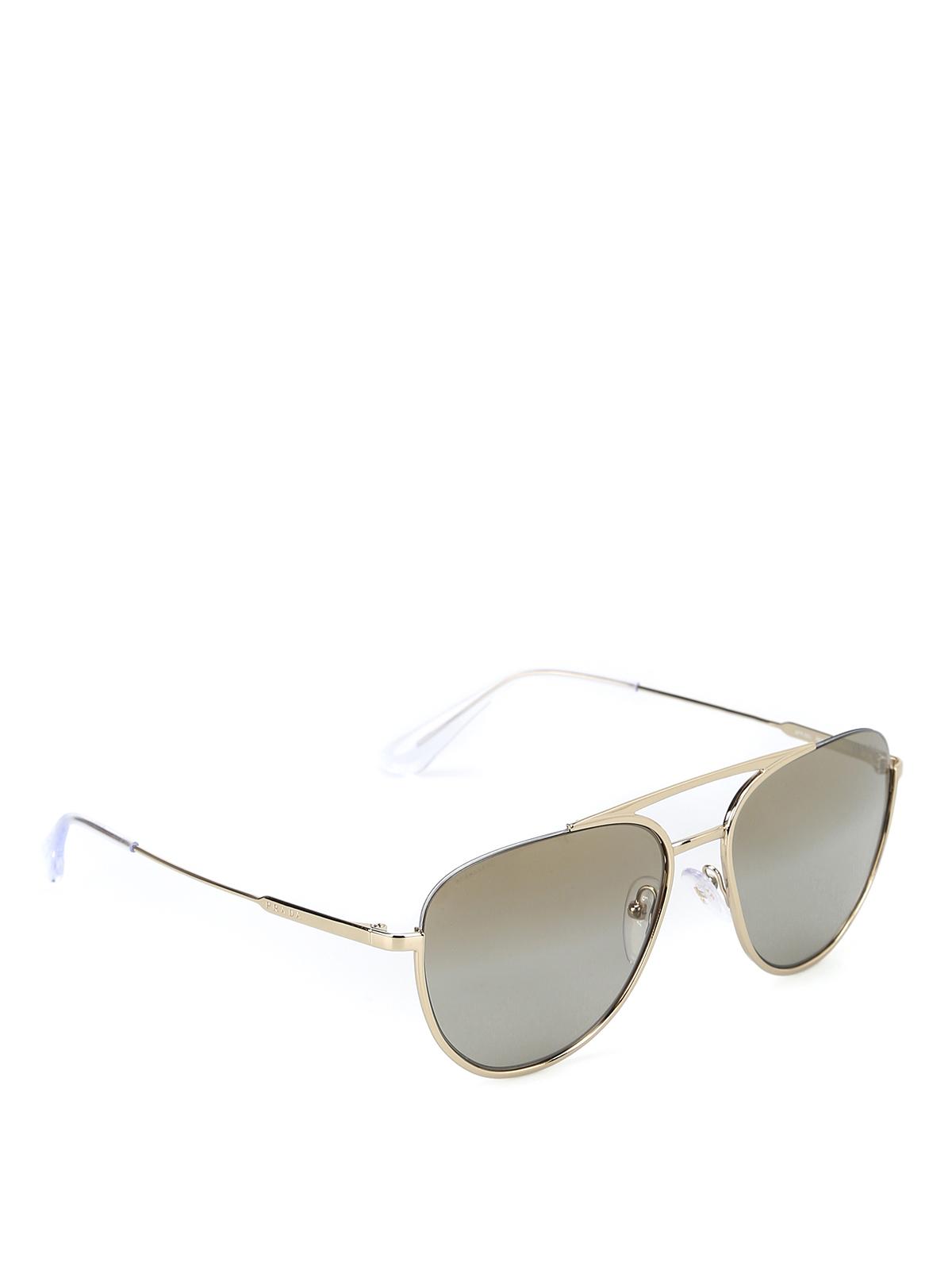 2229bb4896 Prada - Gafas De Sol - Dorado - Gafas de sol - SPR50U ZVN 6O0 ...
