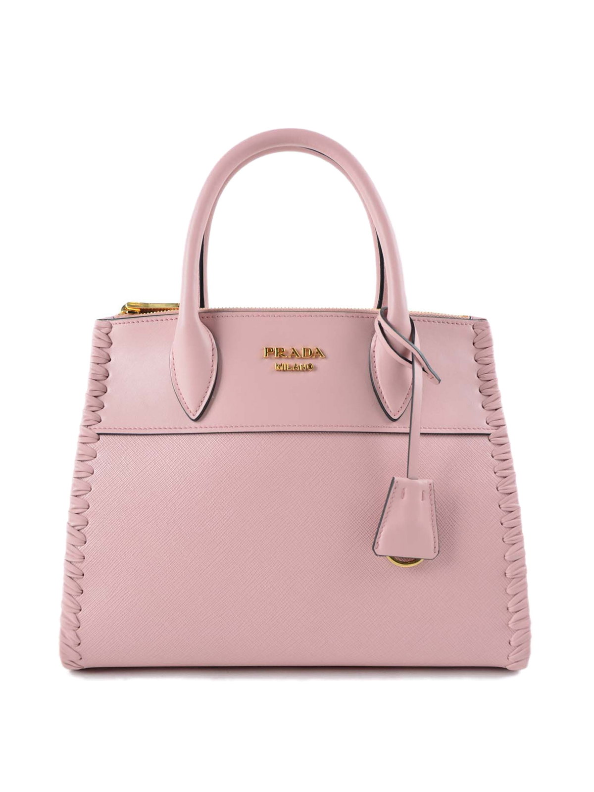 Paradigme leather bag by Prada - totes bags | Shop online ...