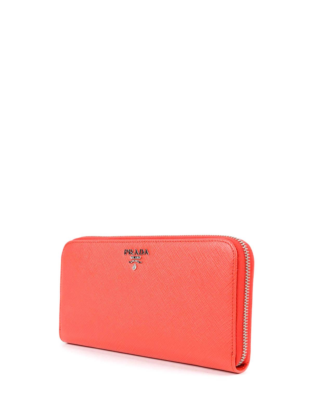 prada clutch purse - Continental leather wallet by Prada - wallets & purses | iKRIX