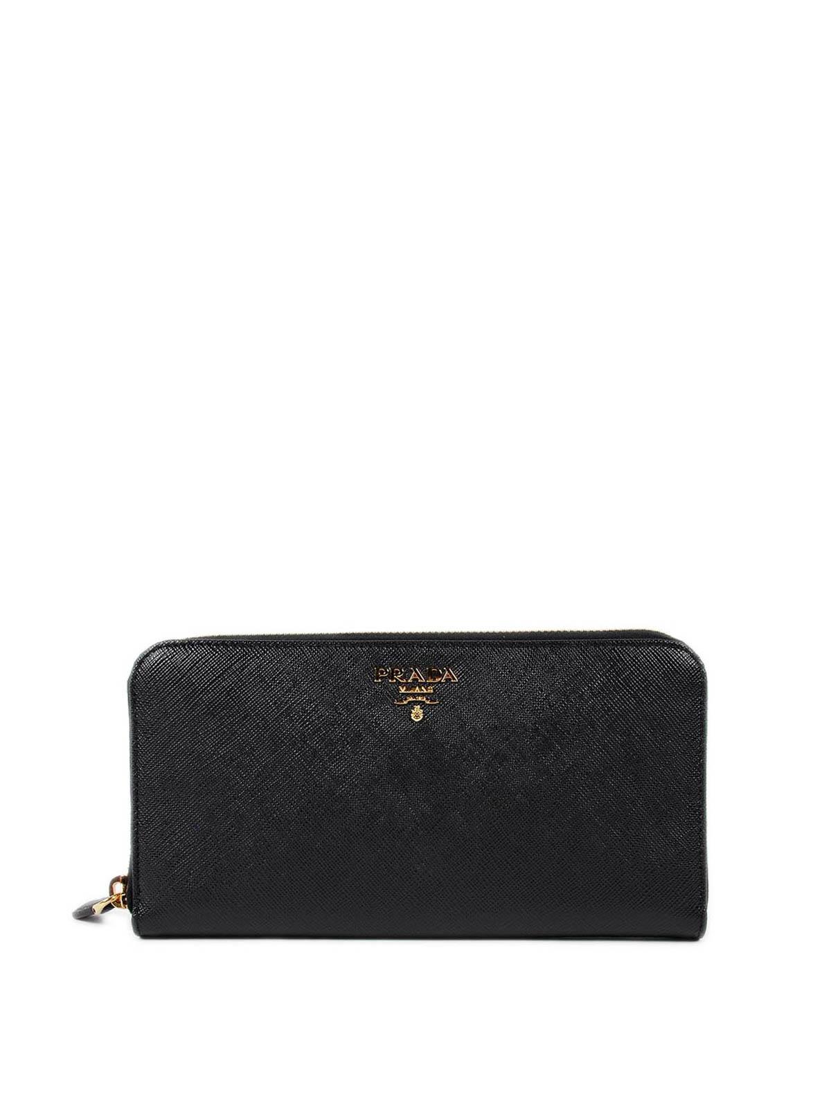 2b4474e6664e Prada - Saffiano leather zip around wallet - wallets & purses ...