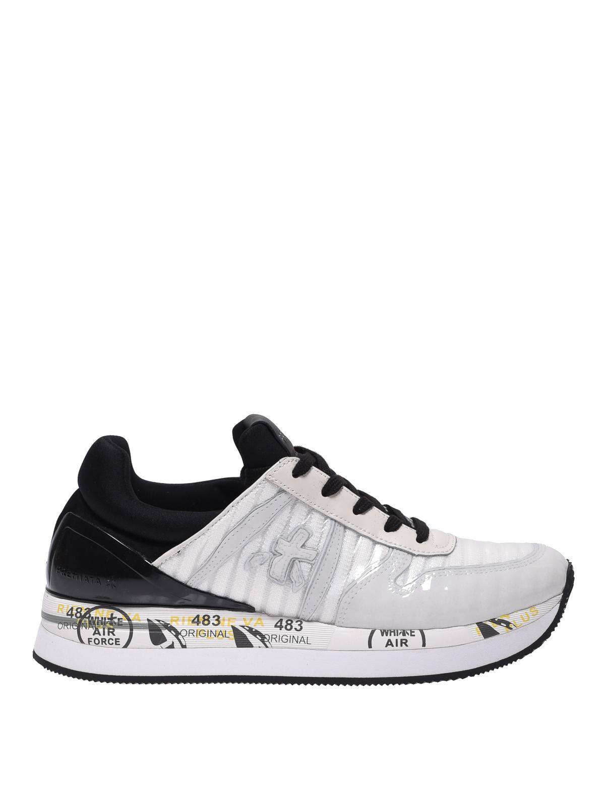 Sneakers Premiata Leather Trainers Patent Liz 3235 wSxCSZAq