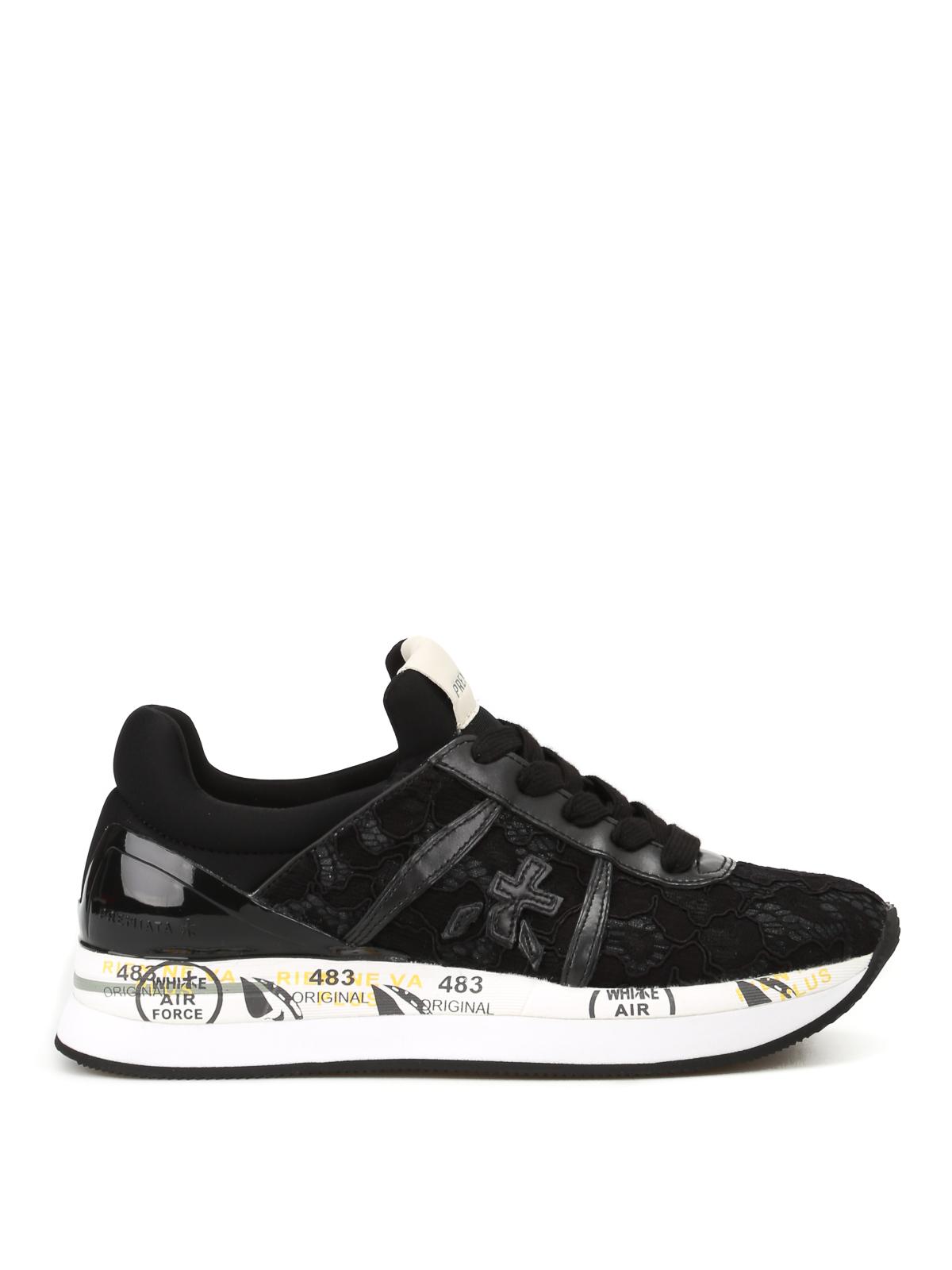 Black Liz lace sneakers Premiata KrJQJQl5u