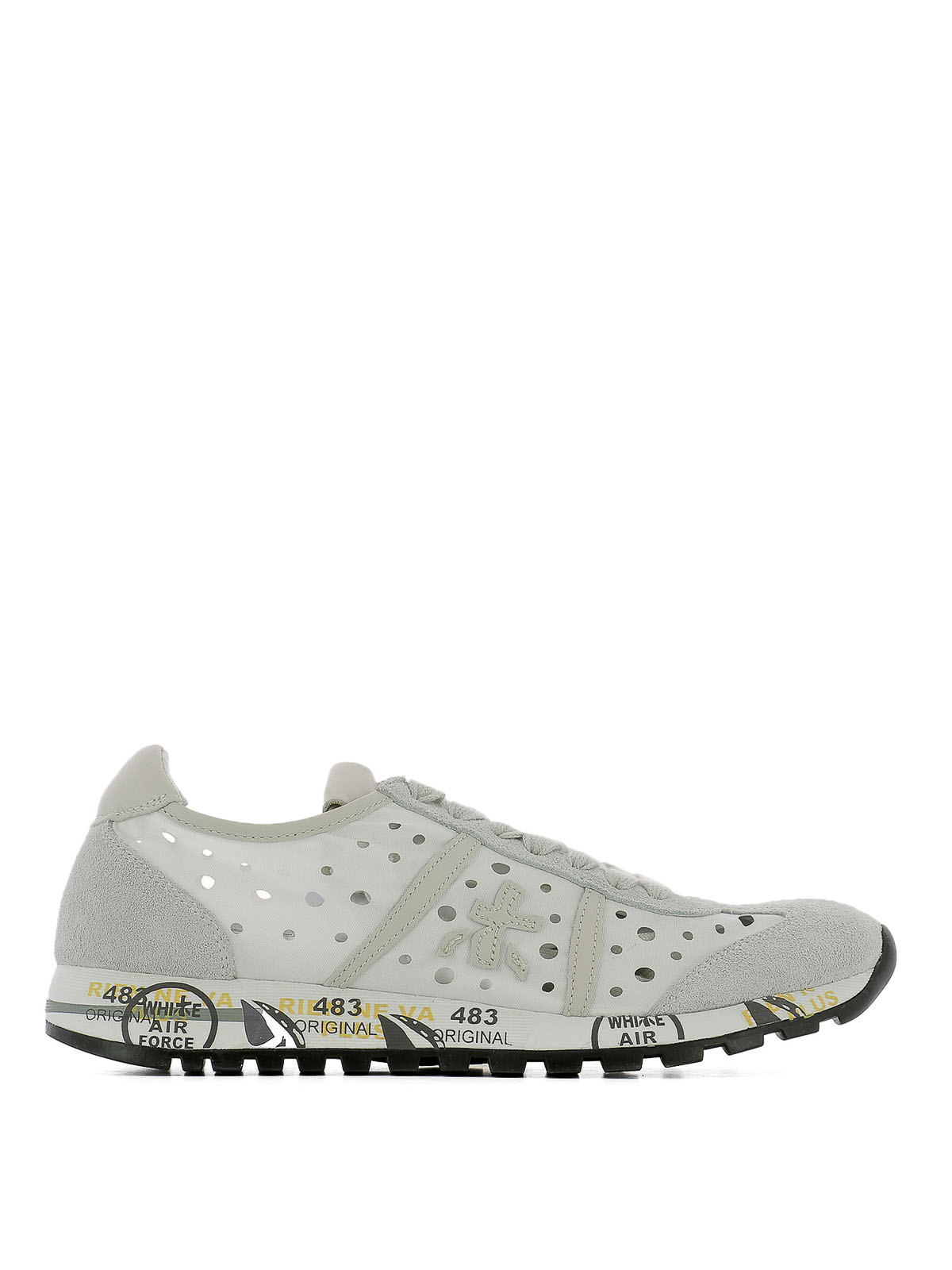 Premiata Lucy Low Top Sneakers In White