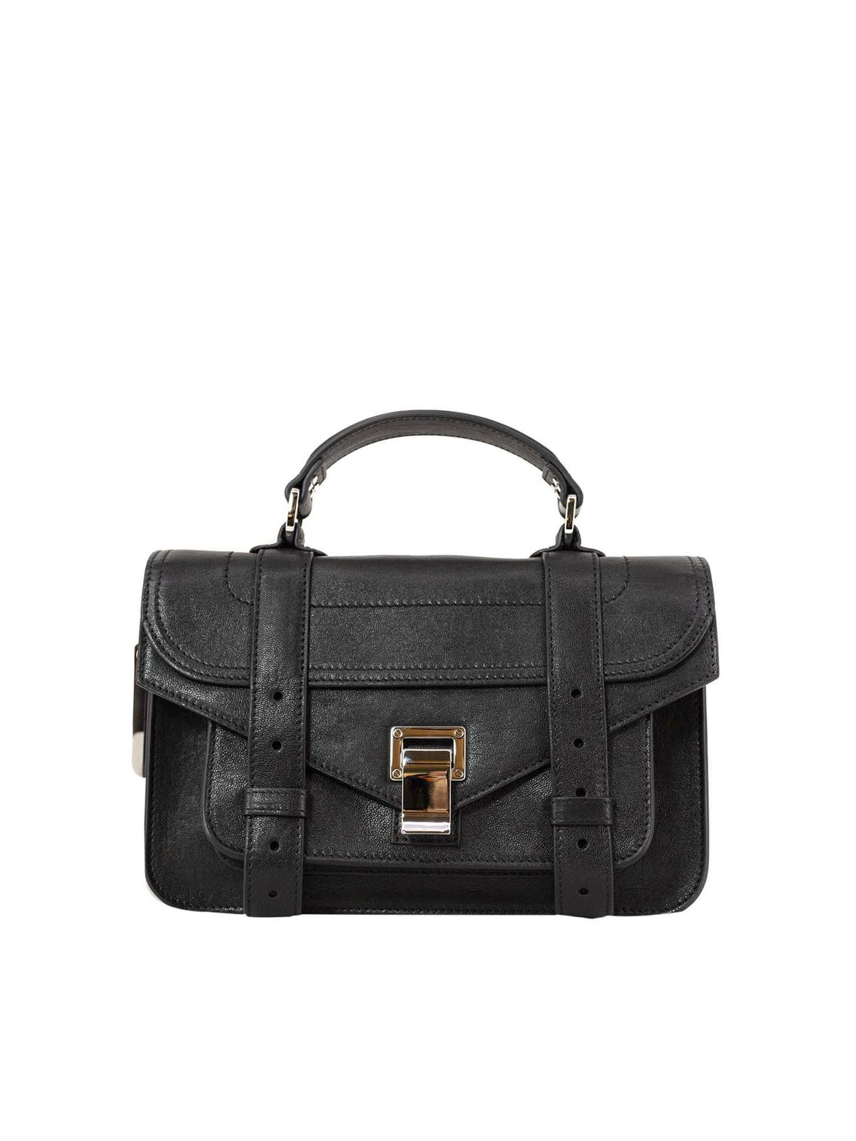 Proenza Schouler PS1 TINY BAG IN BLACK