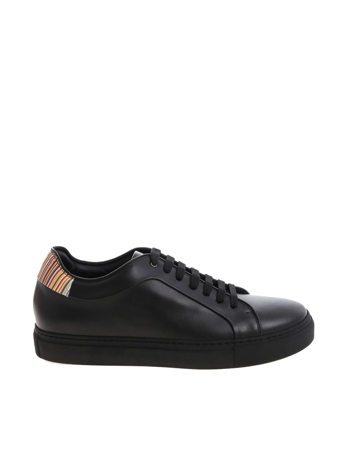 PS BY PAUL SMITH BLACK RAPPID SNEAKERS