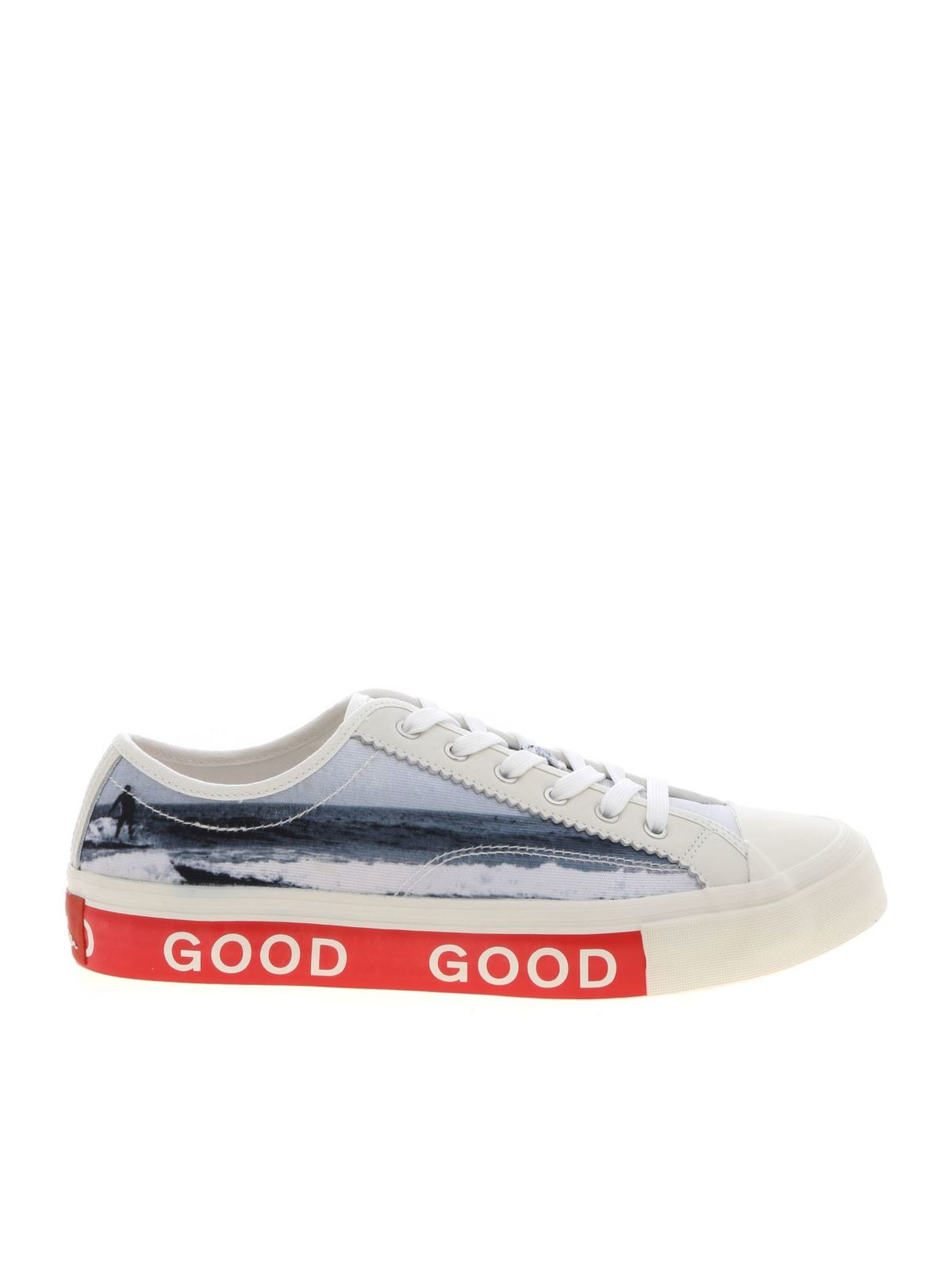 Ps By Paul Smith FENNEC CREAM-COLORED SNEAKERS