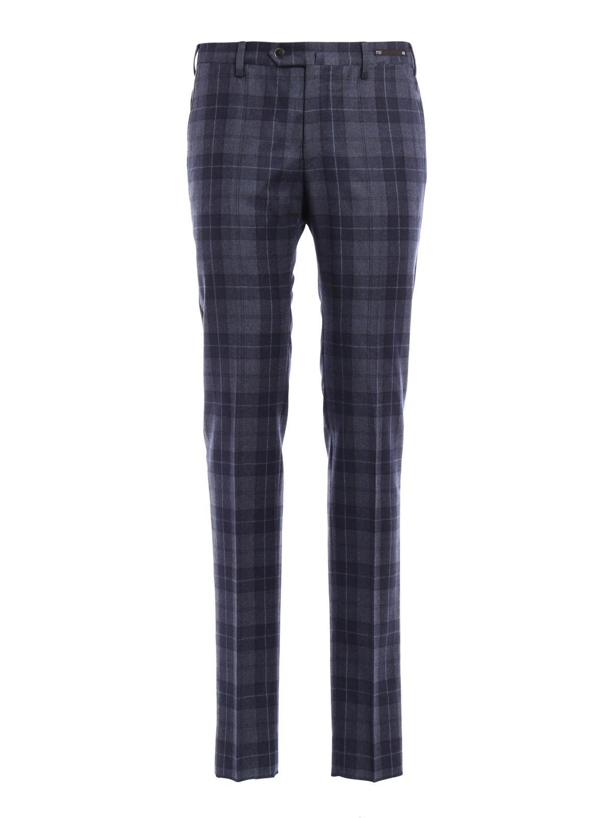 11180df41d PT 01  Pantalones de sastrerìa - Pantalón De Vestir Azul Para Hombre