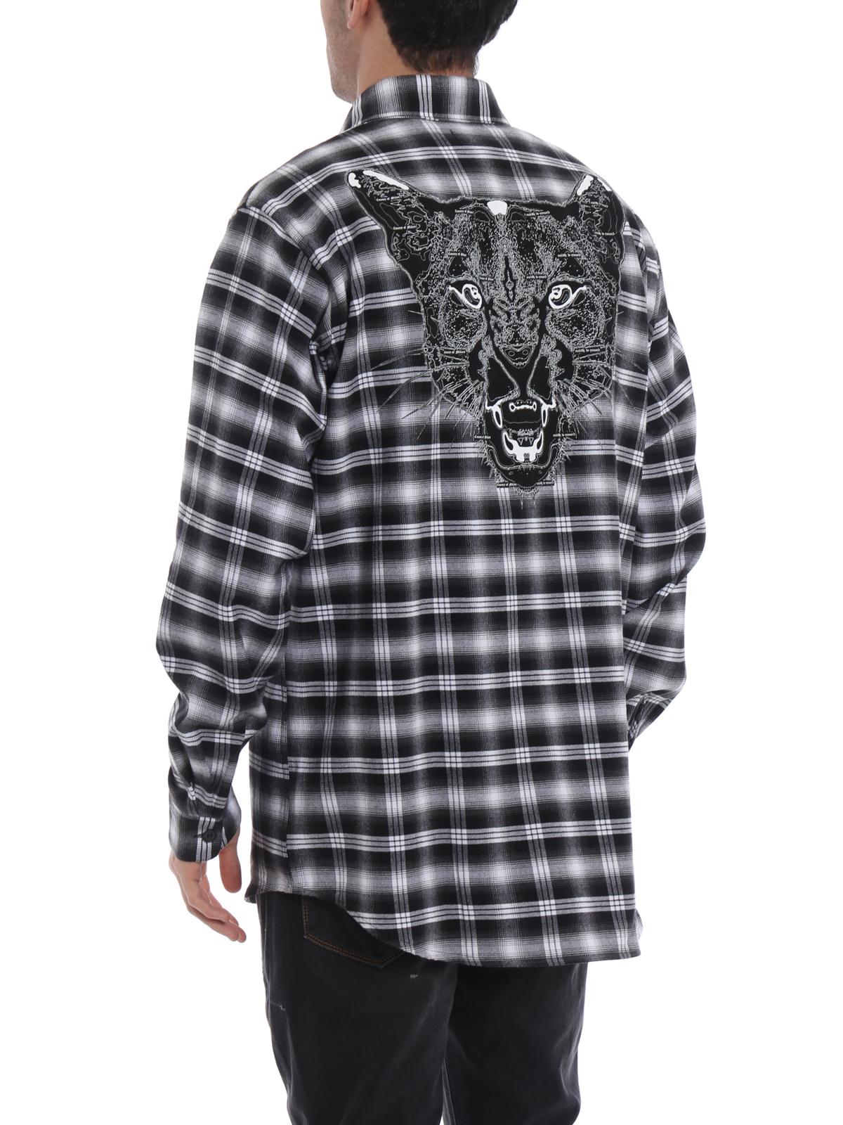 bff3e97749f5 Marcelo Burlon - Puma check flannel shirt - shirts ...