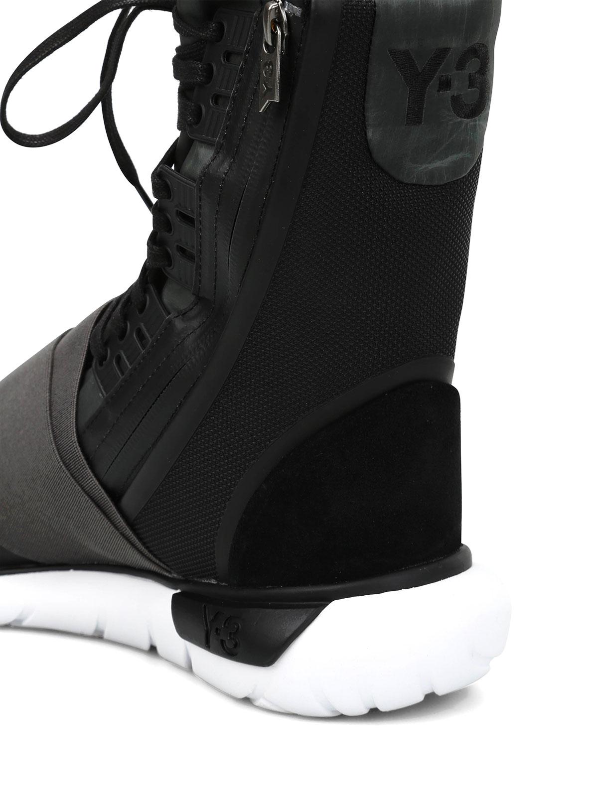 969c7e00e Adidas Y-3 - Qasa Boot multifabric sneakers - Sneaker - BB4803 ...