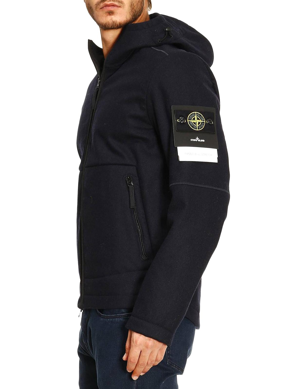 950123e0d Stone Island - R 4L stretch fleece casual jacket - casual jackets ...