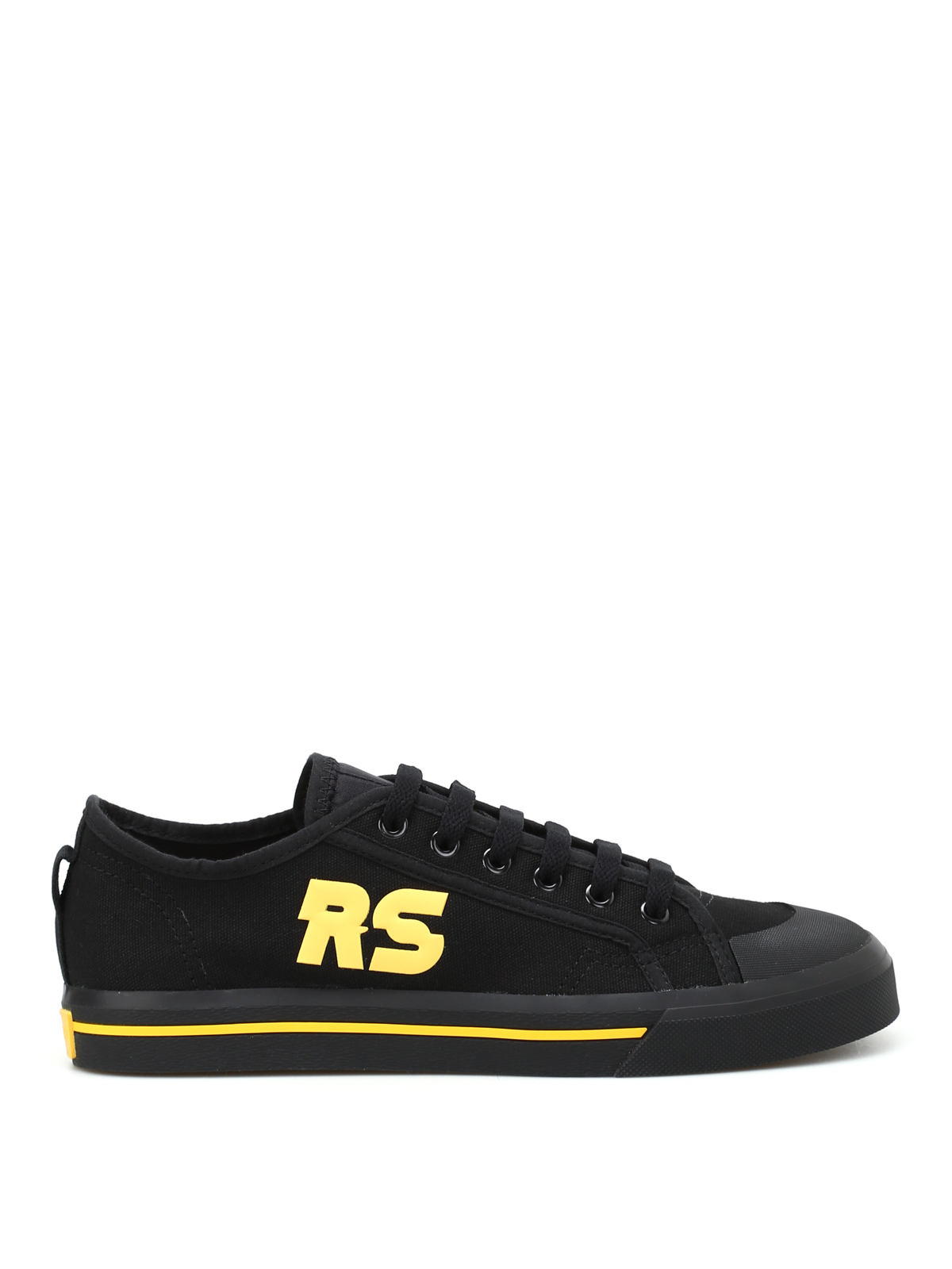 spirit low canvas sneakers by raf simons adidas trainers. Black Bedroom Furniture Sets. Home Design Ideas