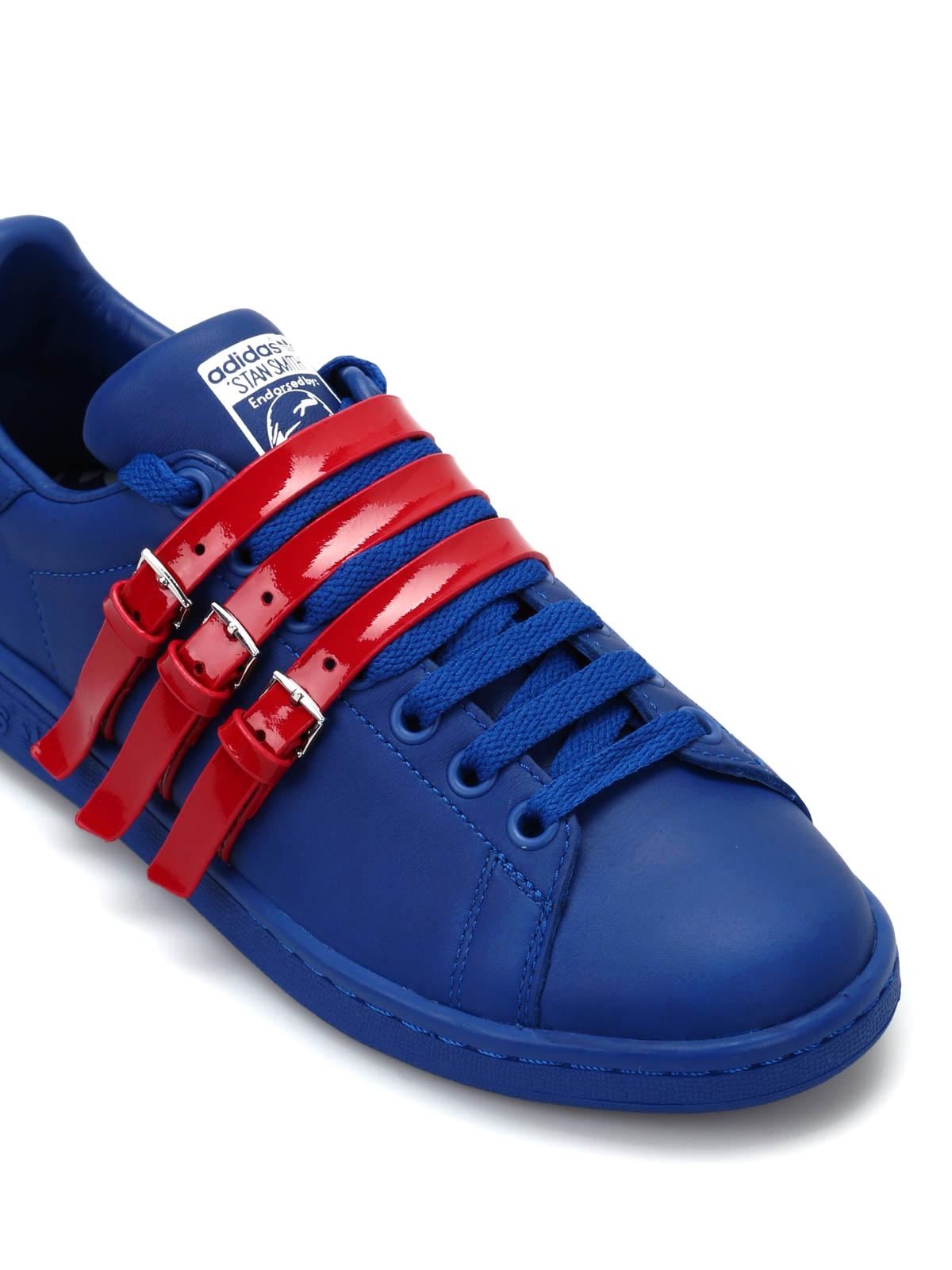 watch 81f68 61f48 Adidas - Raf Simons Stan Smith Strap - trainers .