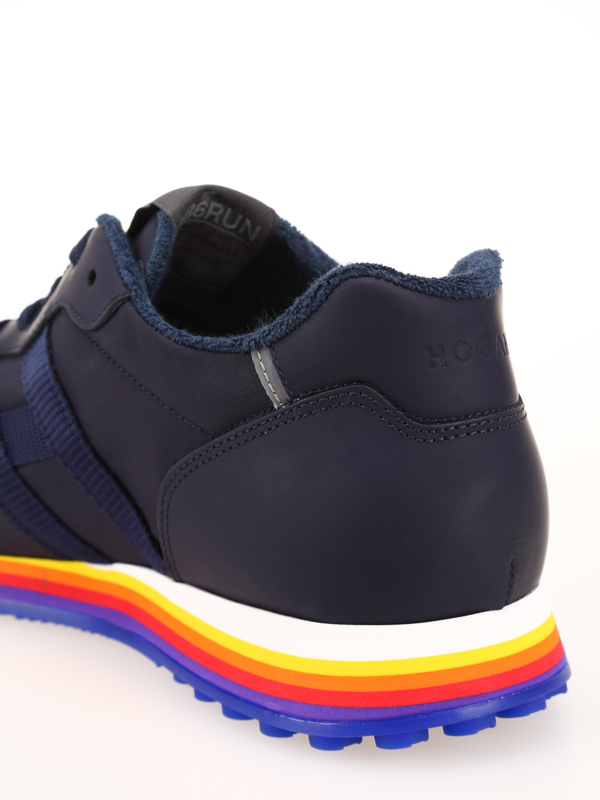 Hogan - Rainbow sole lace-up sneakers - trainers - GYM4500AN51L70773Z
