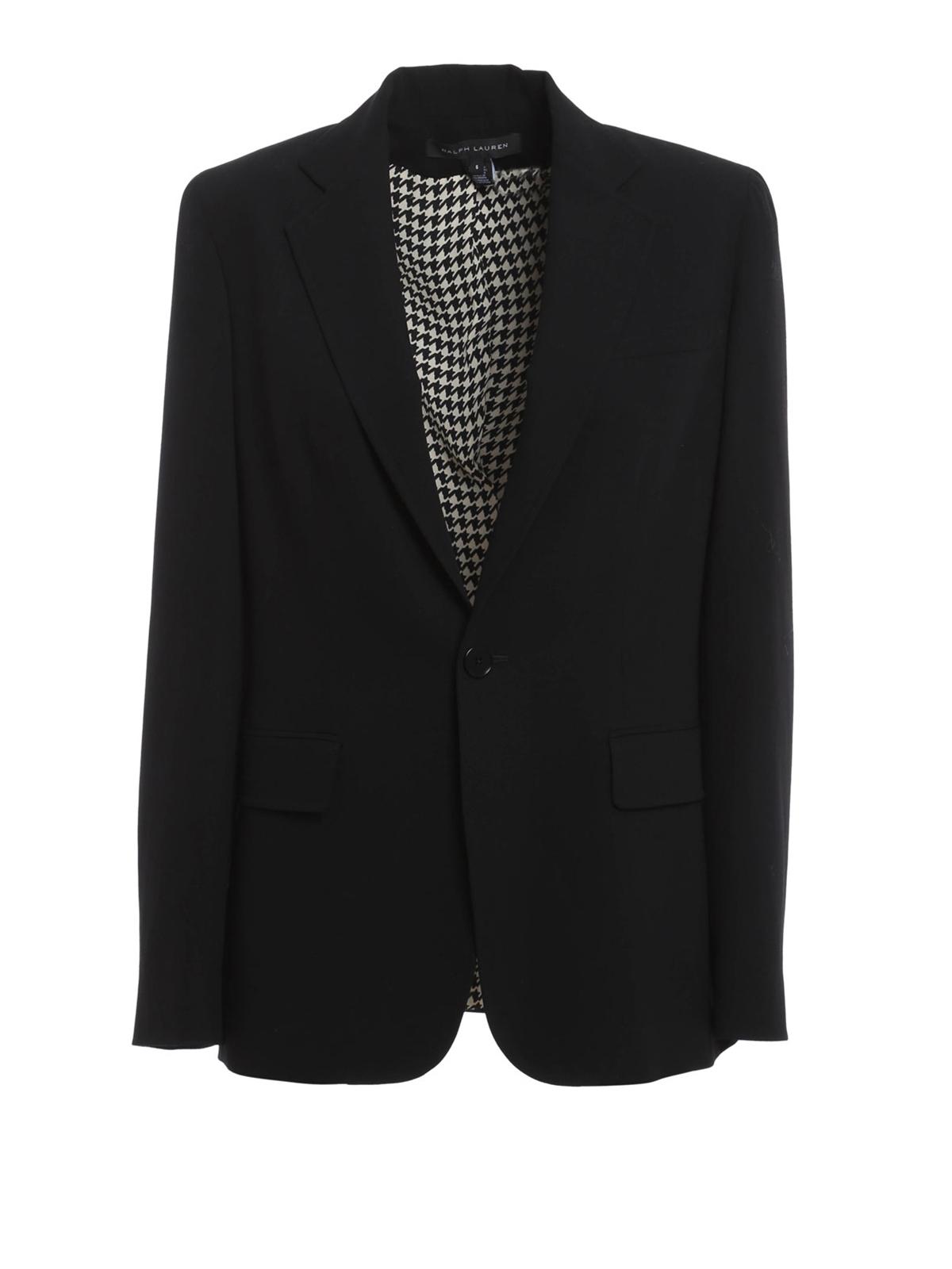 blazer in lana ralph lauren giacche blazer ikrix. Black Bedroom Furniture Sets. Home Design Ideas