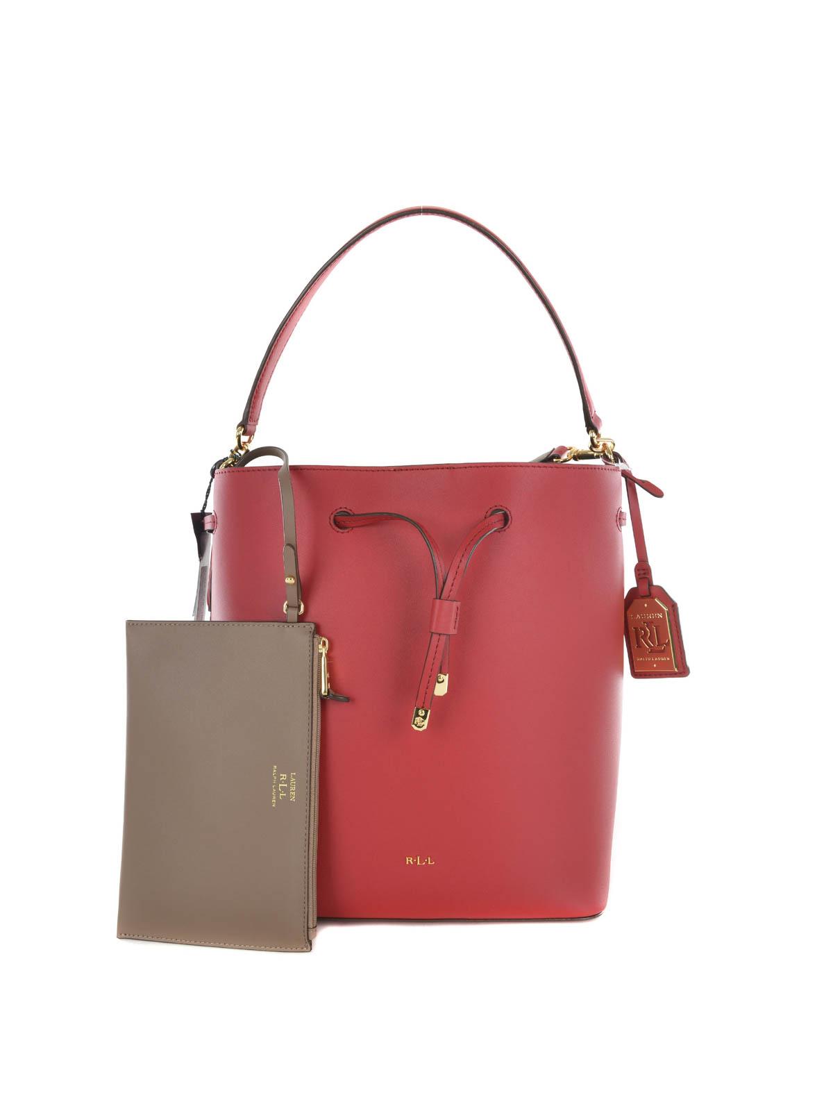 bcea1b62ded4 Ralph Lauren - DRYDEN MEDIUM BUCKET BAG - Bucket bags - N91 XZ0AY ...