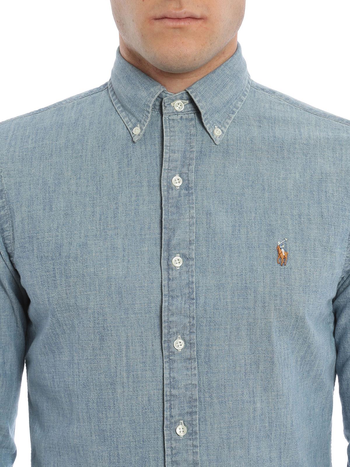 new styles a48c8 cfbb1 Ralph Lauren - Denim shirt - shirts - A04WSL3BC0210 A48M1 ...