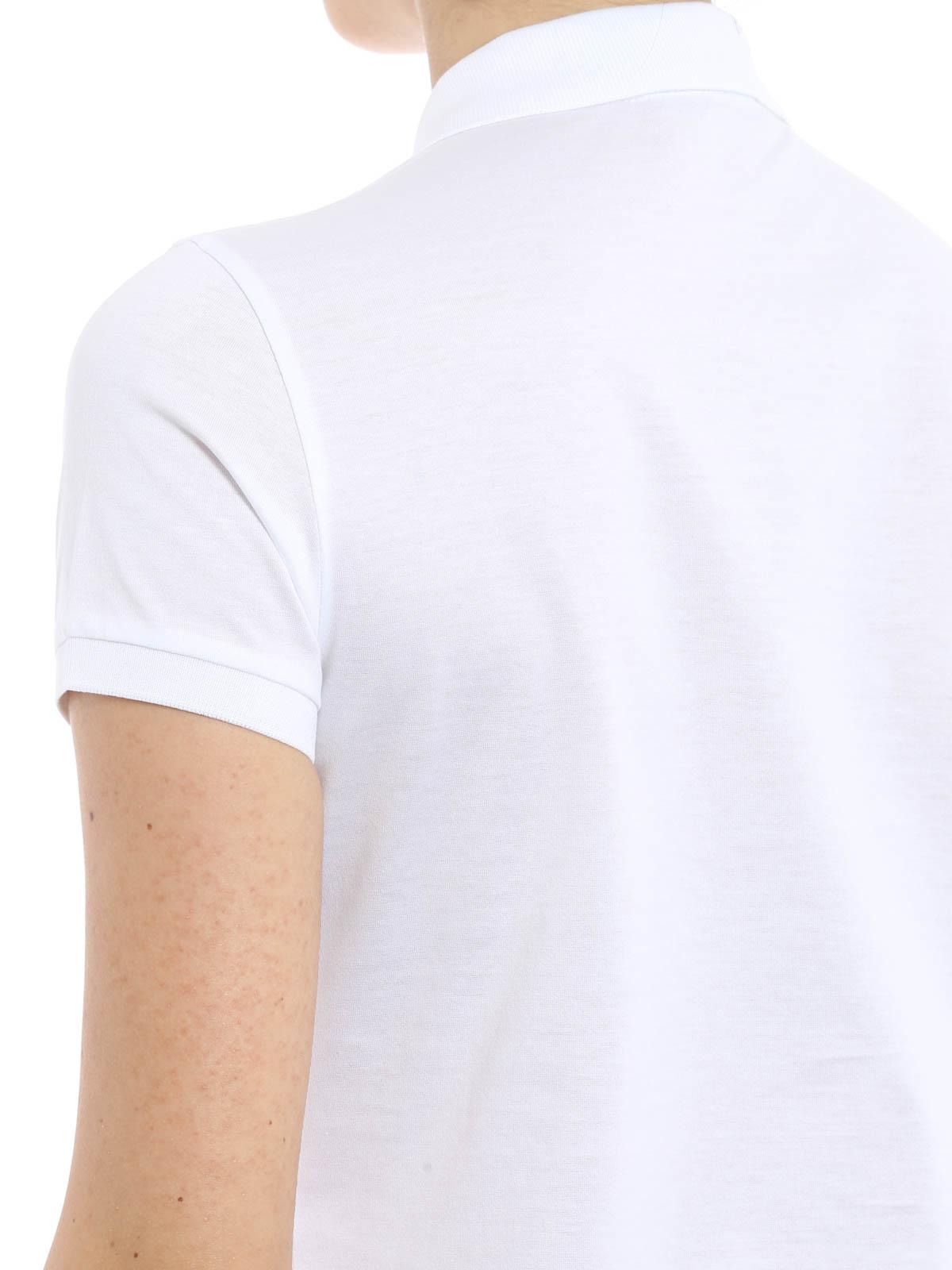 newest 2d1a4 c083c Ralph Lauren - Poloshirt Fur Damen - Weiß - Poloshirts ...