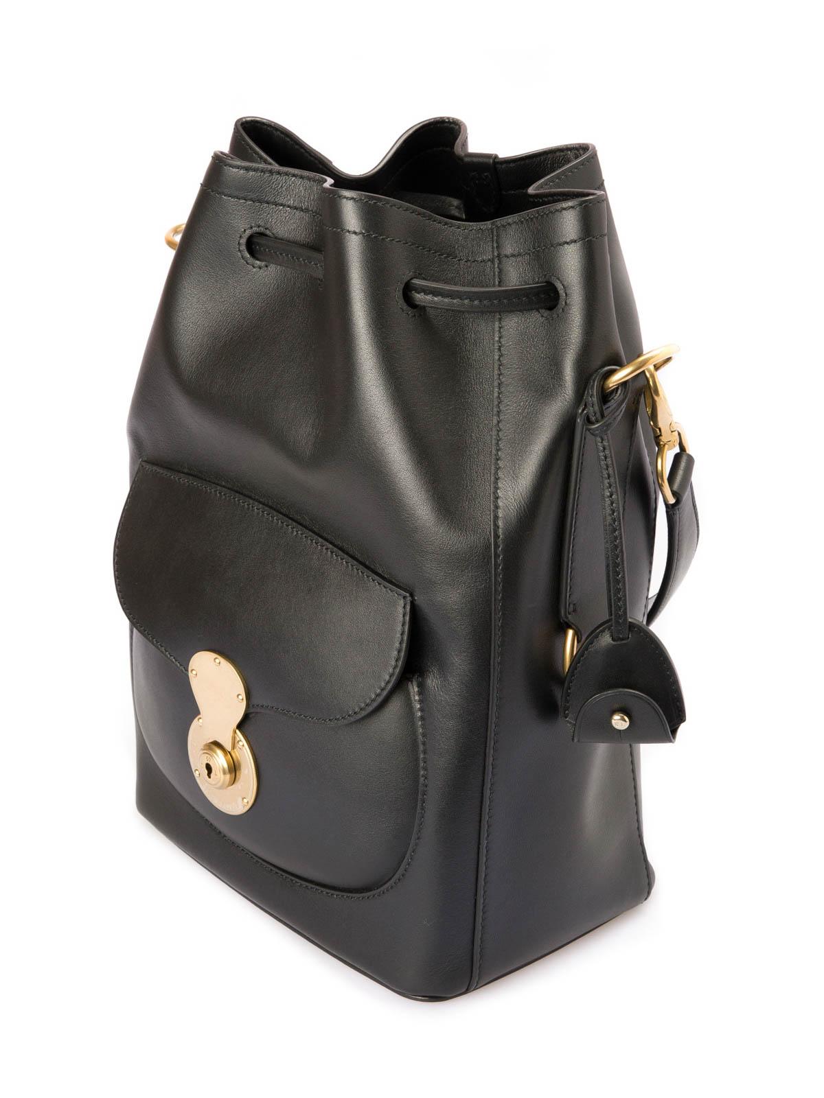 a7db7739f7ea Ralph Lauren - Leather bucket bag - کیف خمره ای - 69H ITP37 RAPPA A0001