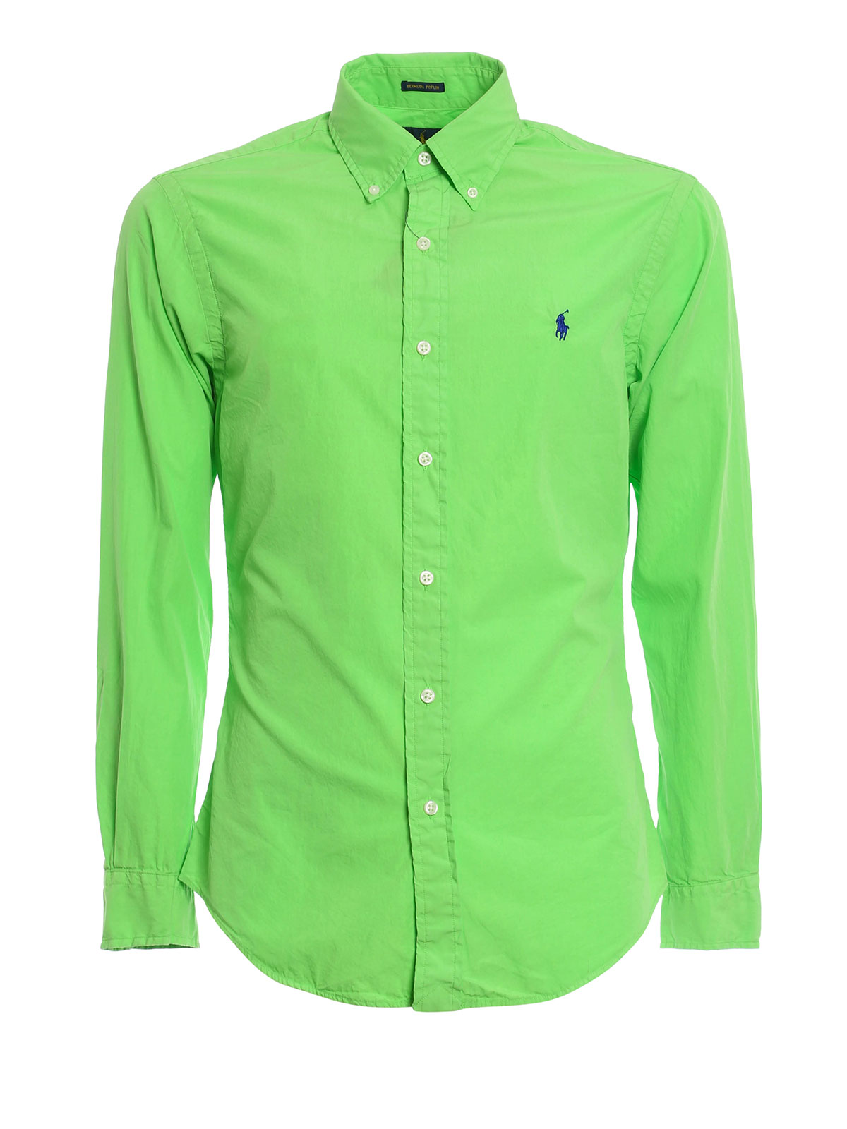 Bermuda poplin b d shirt by ralph lauren shirts shop for What is a poplin shirt
