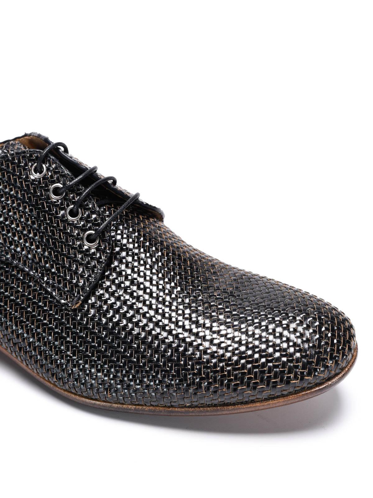 new styles 54443 06e12 Raparo - Slip-on in pelle intrecciata - scarpe stringate ...
