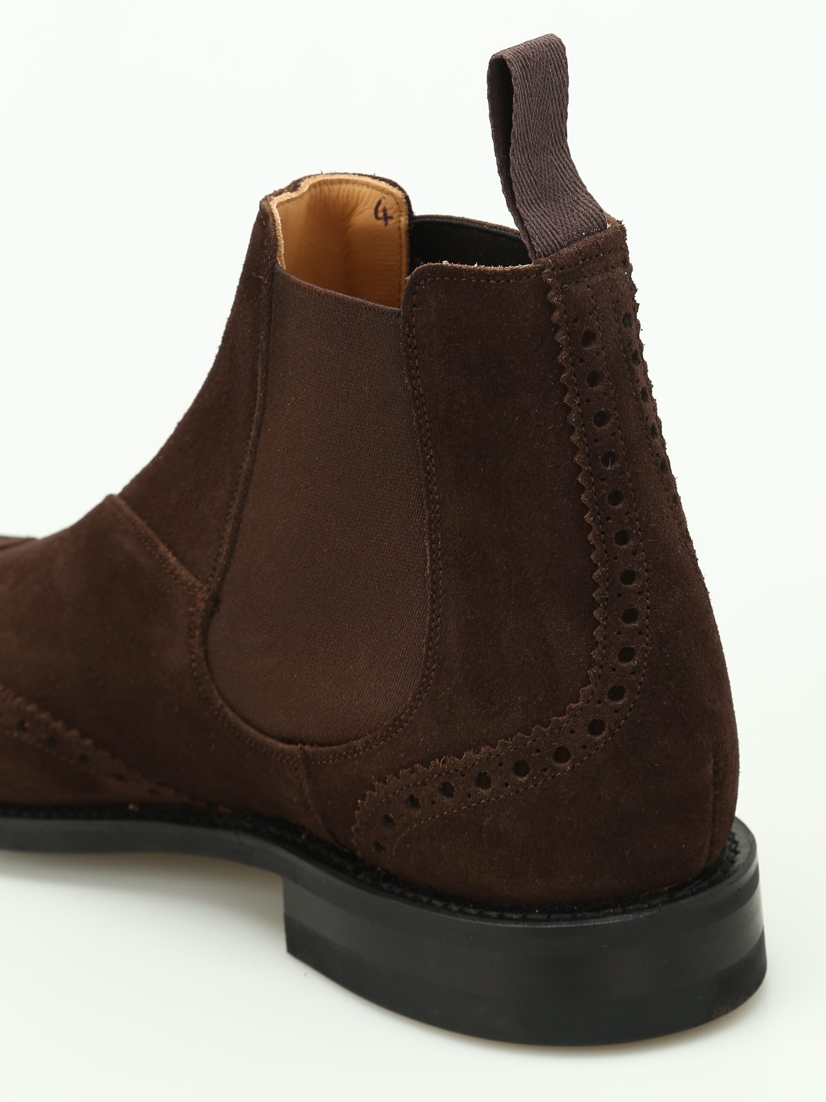 Ravenfield suede Chelsea boots