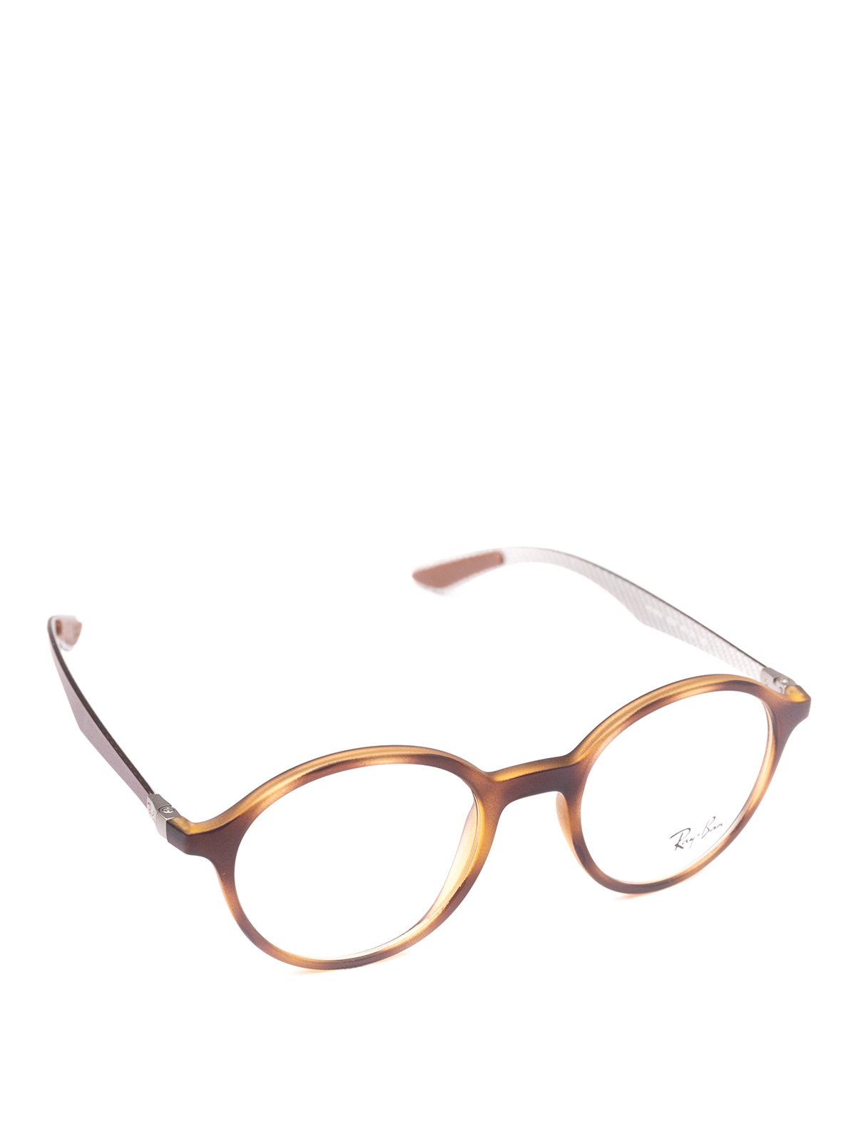 ceaf9aa980 Ray Ban - Matte Havana rounded frame glasses - glasses - RB8904 5200