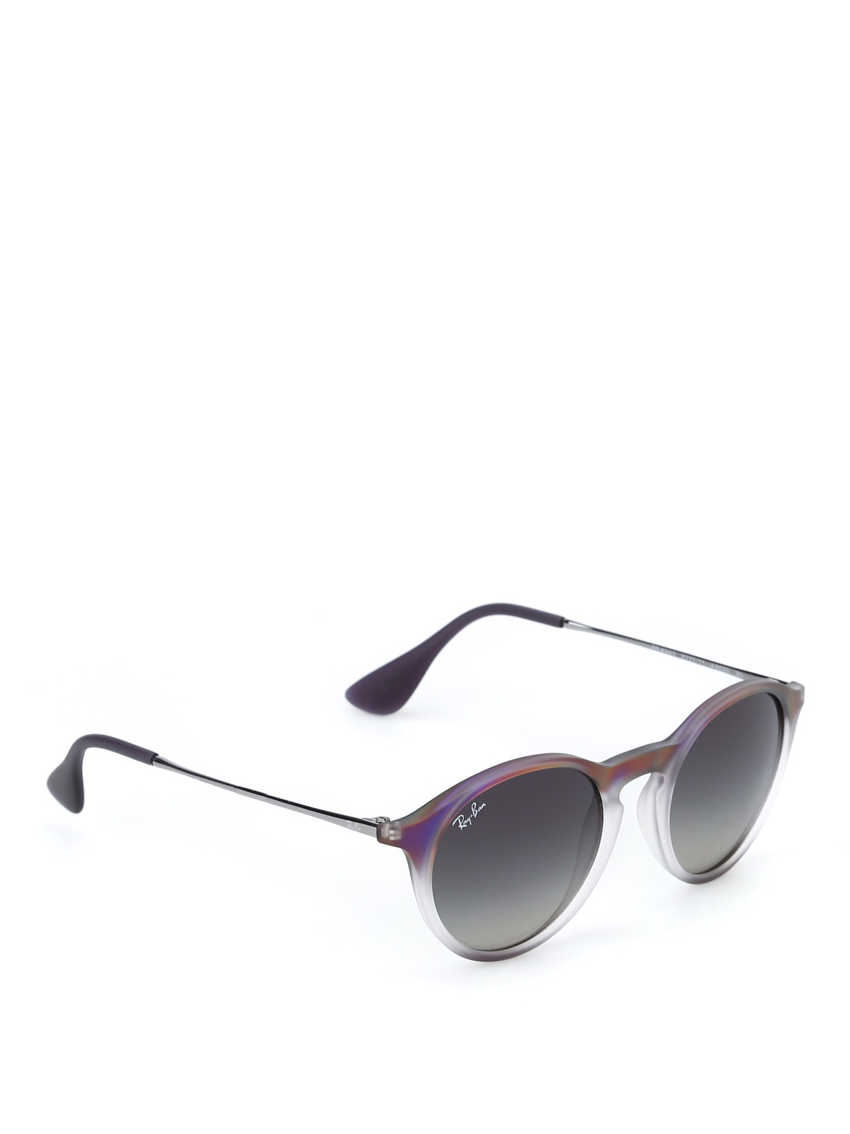 occhiali pantos viola e grigi ray ban occhiali da sole
