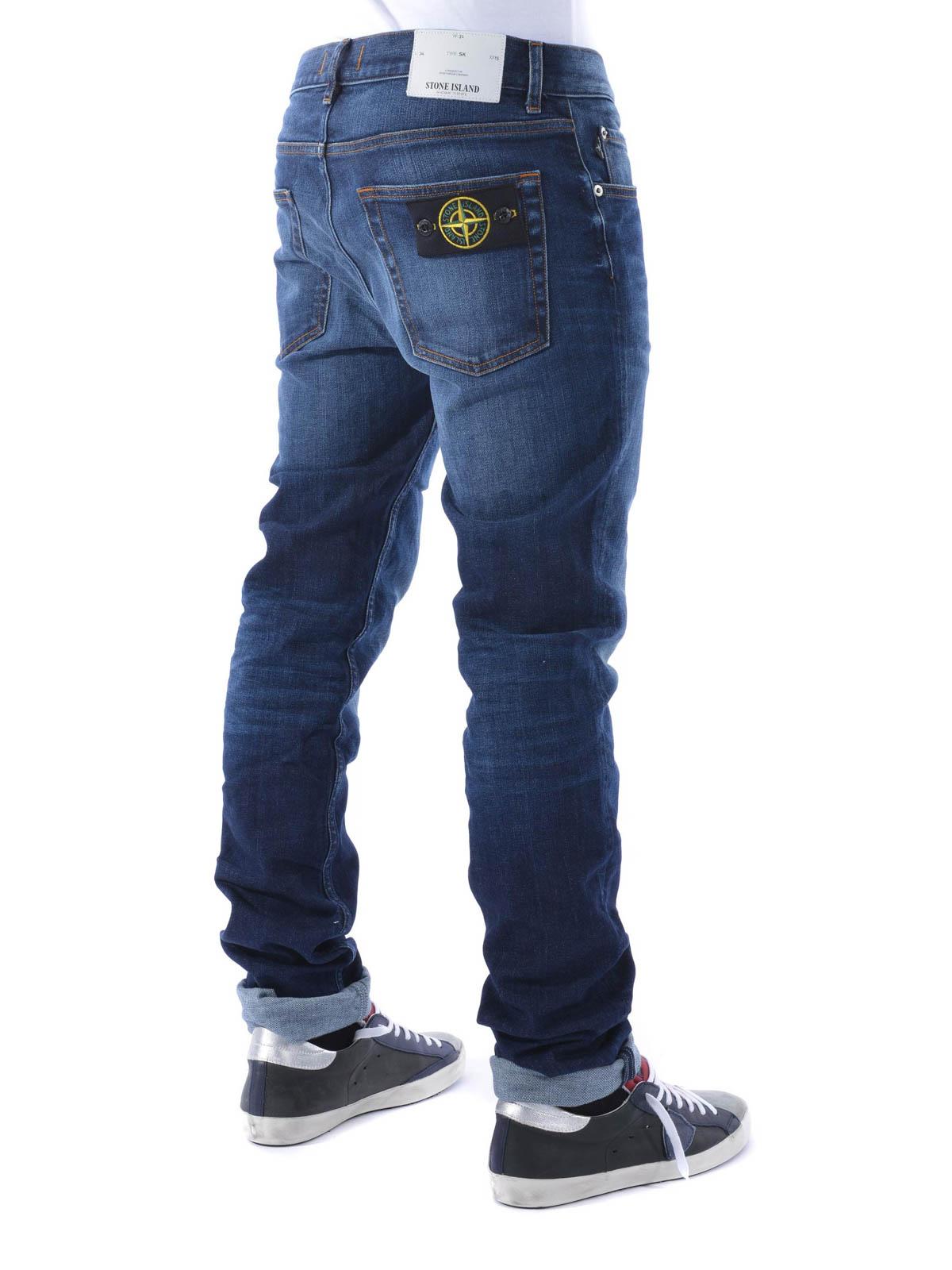 REAL skinny jeans by Stone Island - skinny jeans | iKRIX