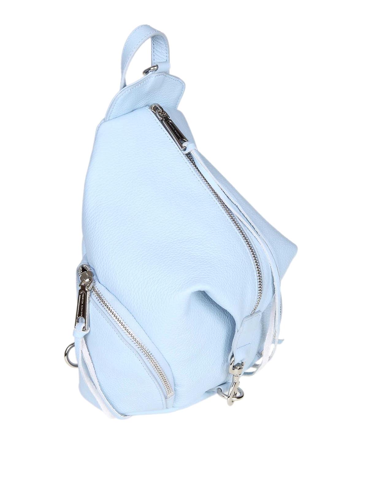 a0cd4bfdc REBECCA MINKOFF: backpacks online - Julian light blue backpack