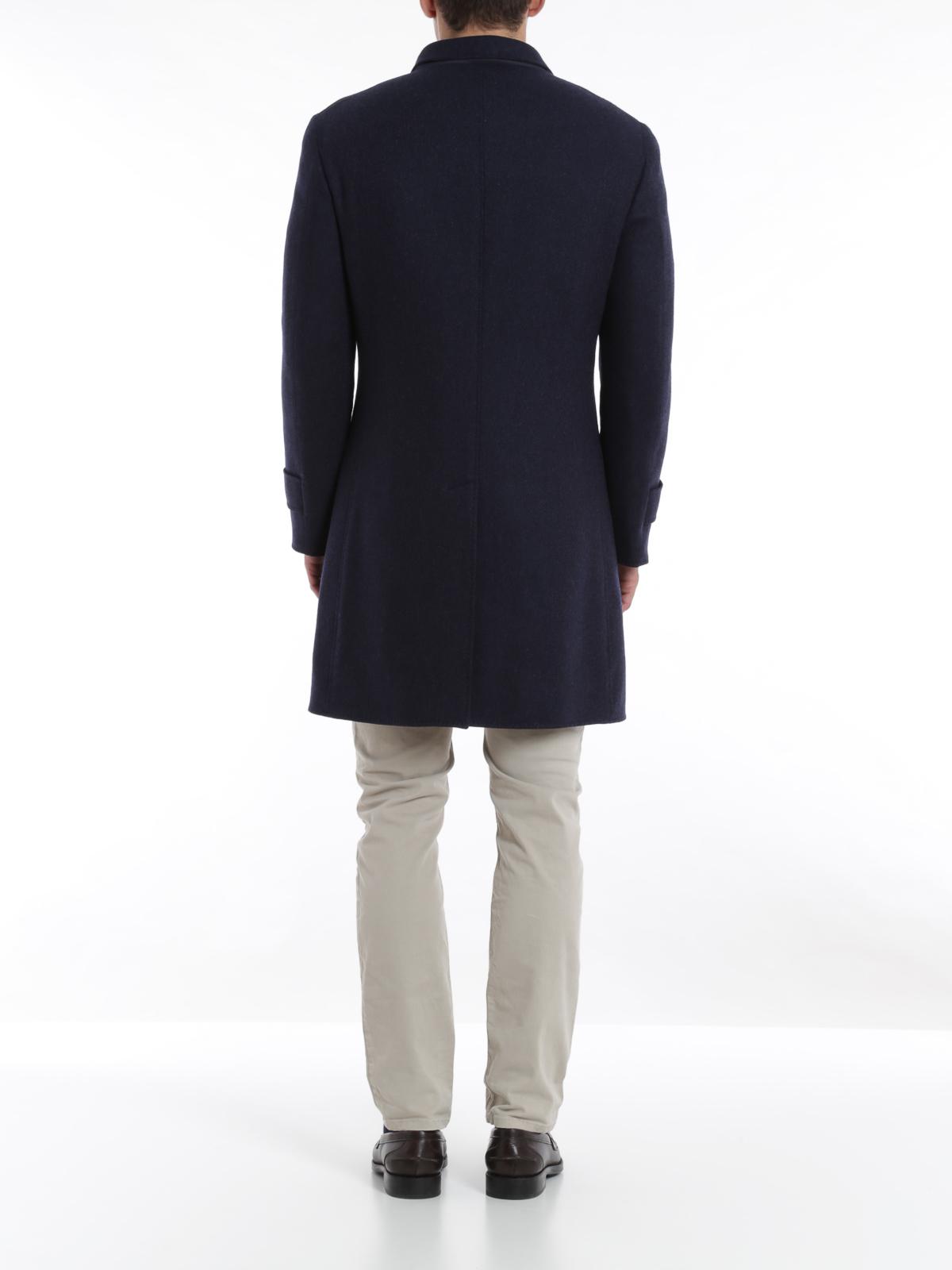 Brunello Cucinelli Redingote Reversible Coat Knee