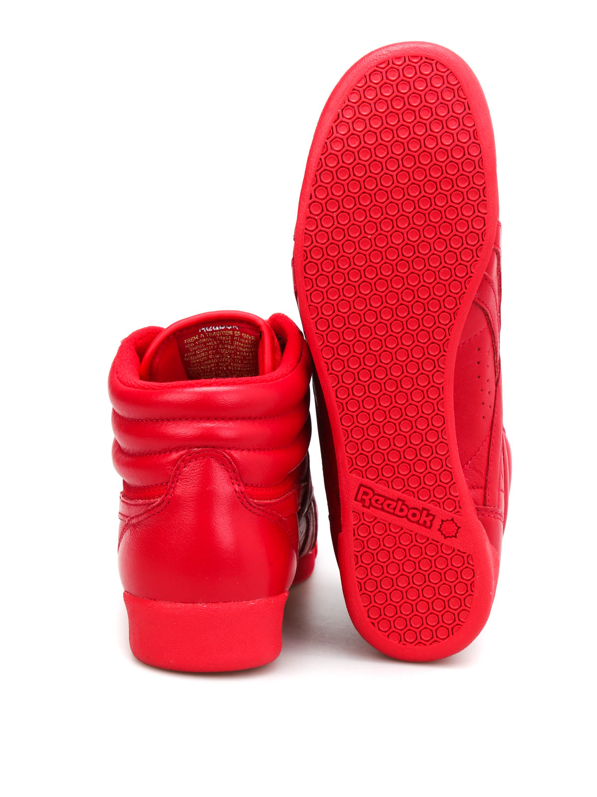Reebok Freestyle Hi Red REEBOK Turnschuhe günstig online
