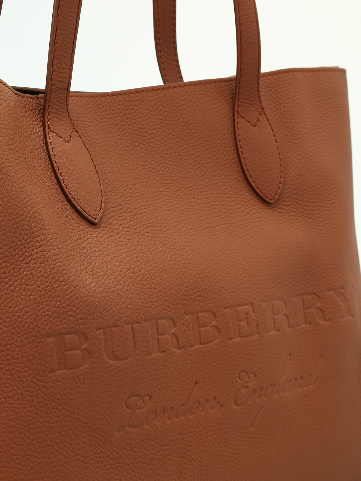 0eb3cca64dda Burberry - Remington brown leather large tote - totes bags - 4060092